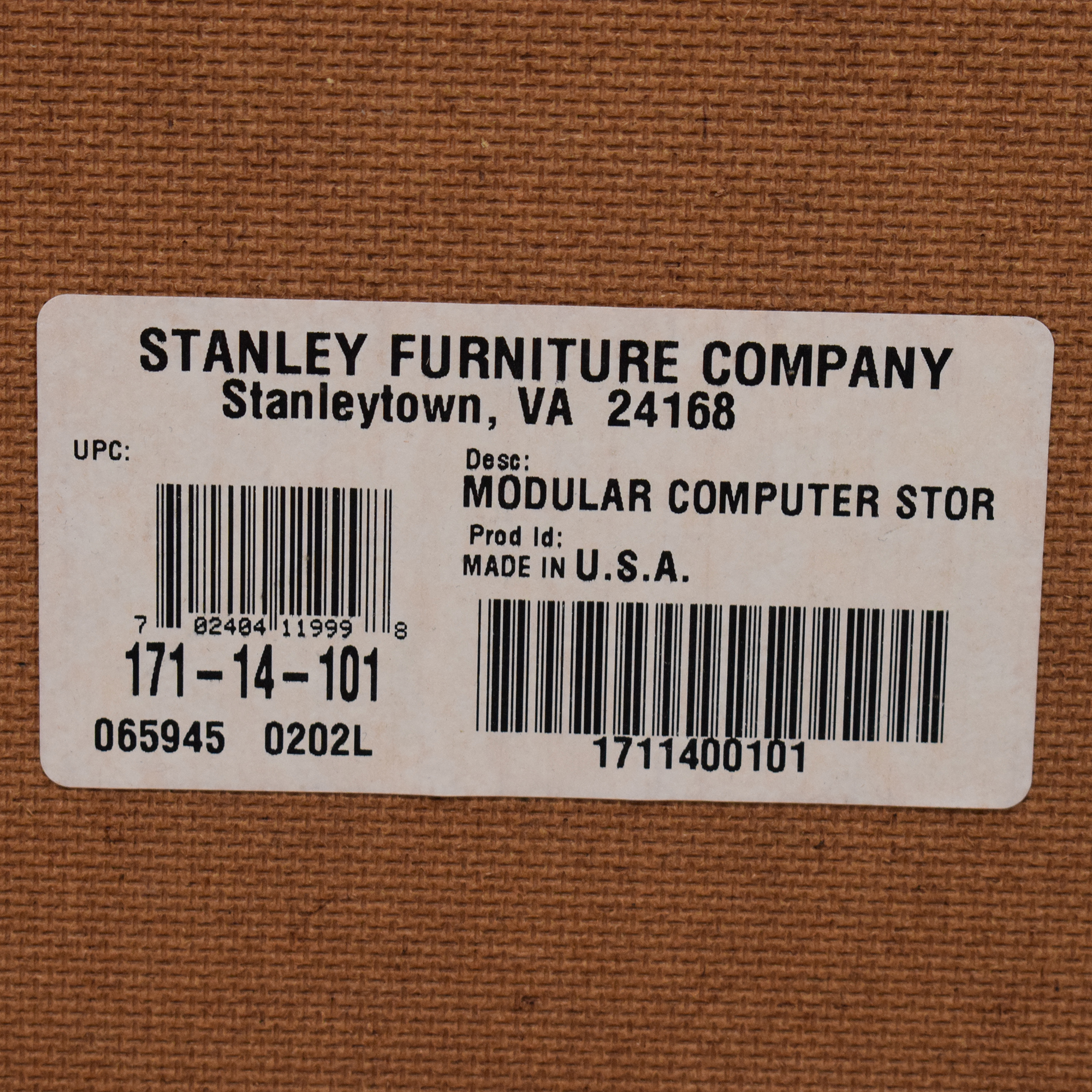 Stanley Furniture Stanley Furniture Modular Computer Storage used