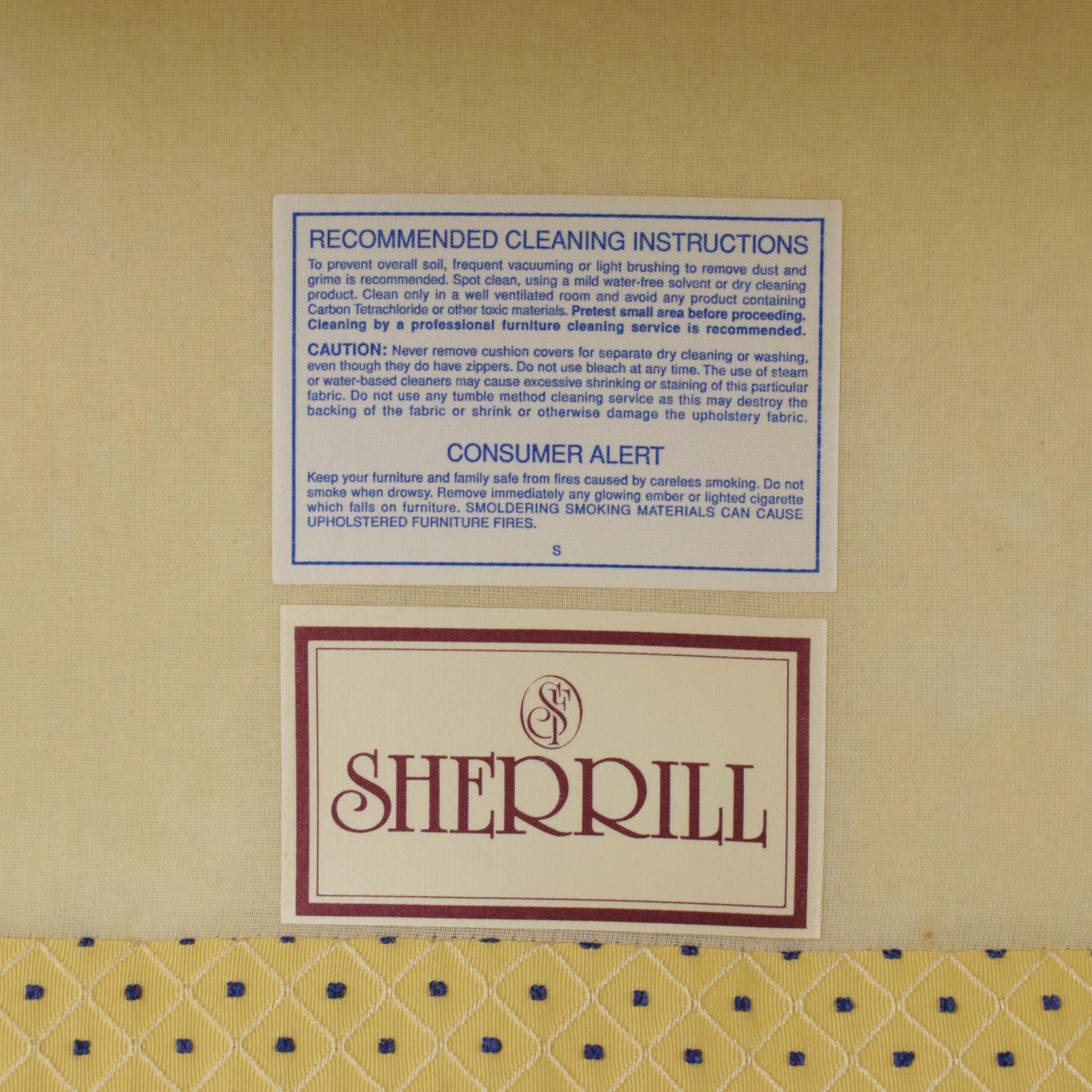 shop Sherrill Furniture Upholstered Chair Sherrill Furniture