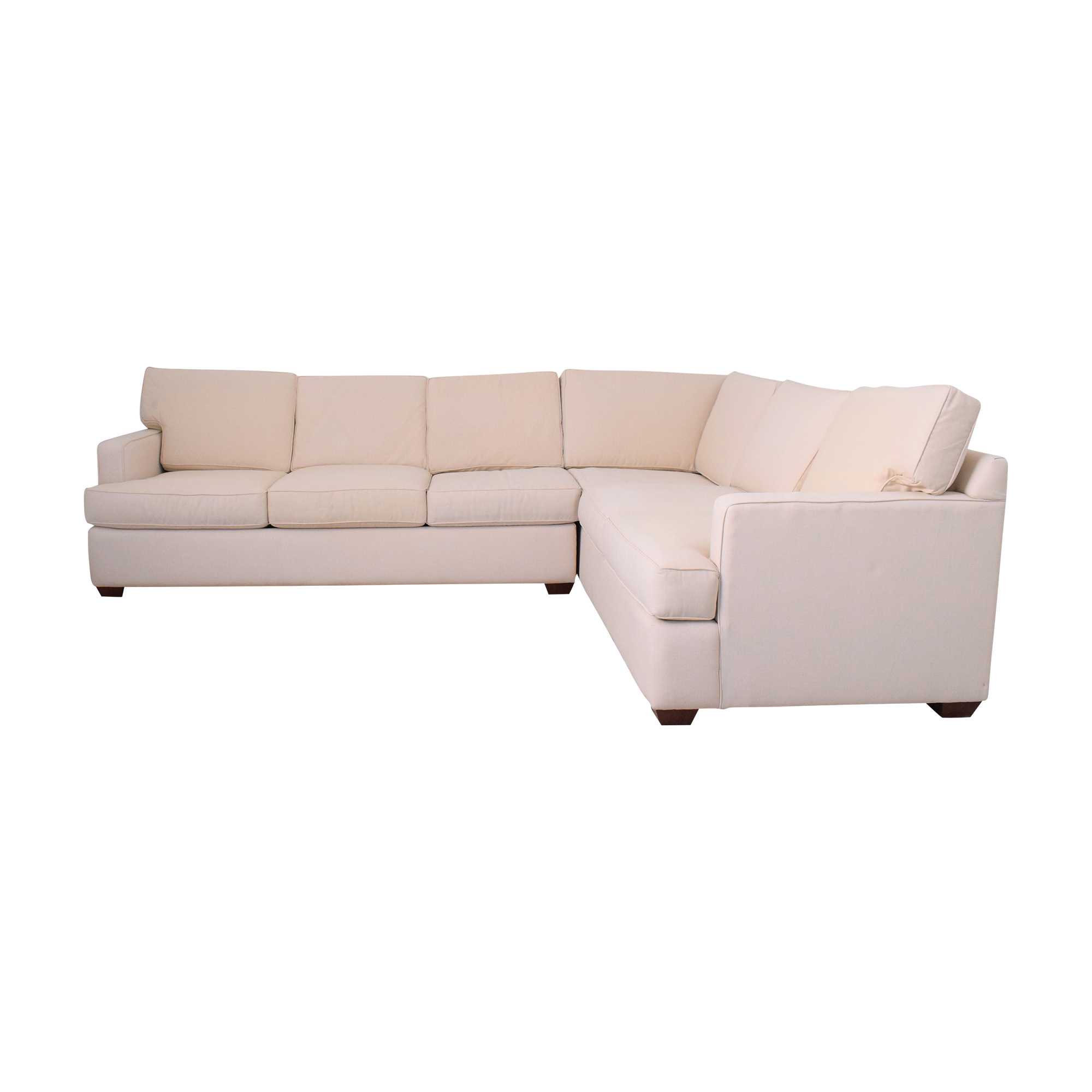 shop Klaussner Loomis Sectional Klaussner Sofas