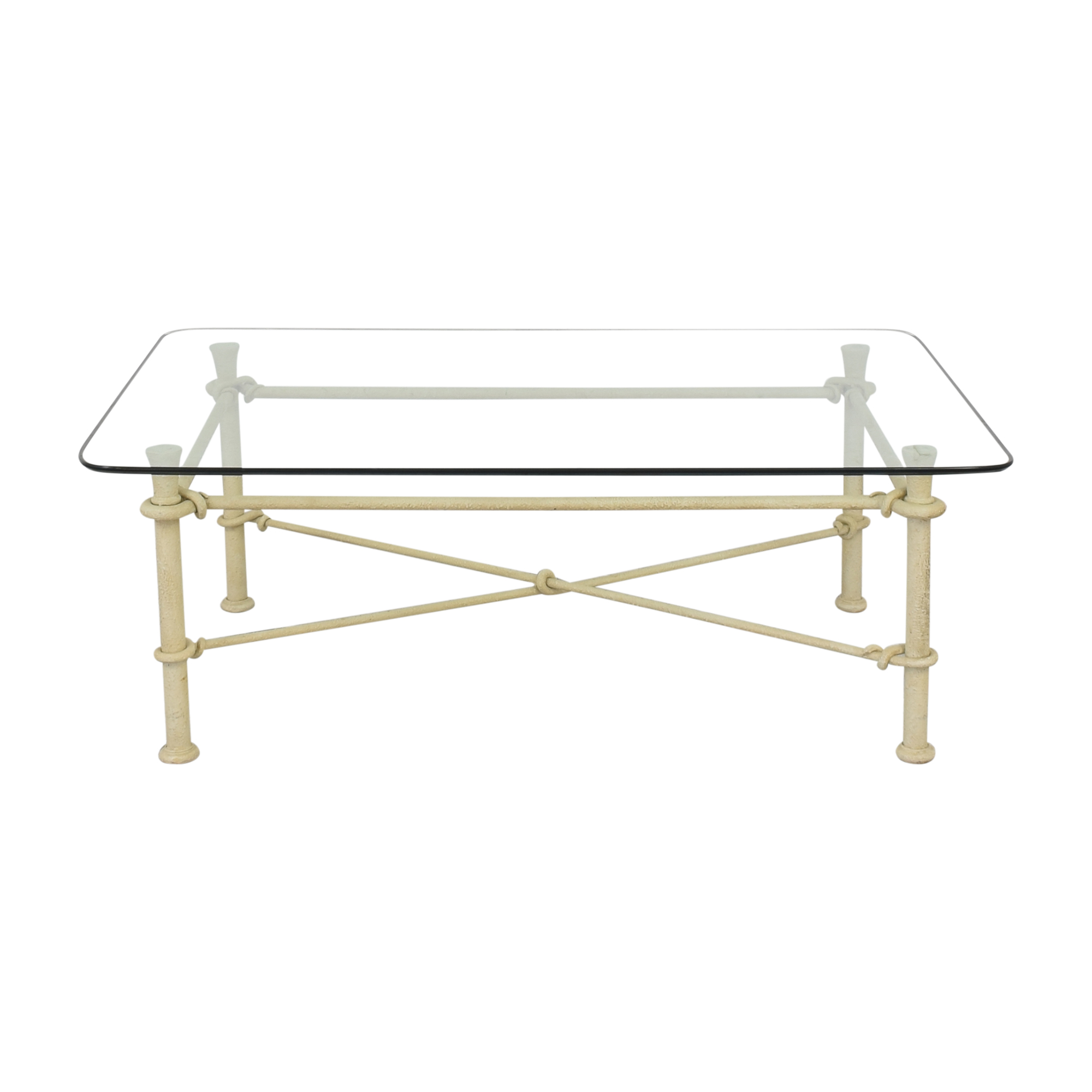 buy Ethan Allen Glass Top Coffee Table Ethan Allen Tables