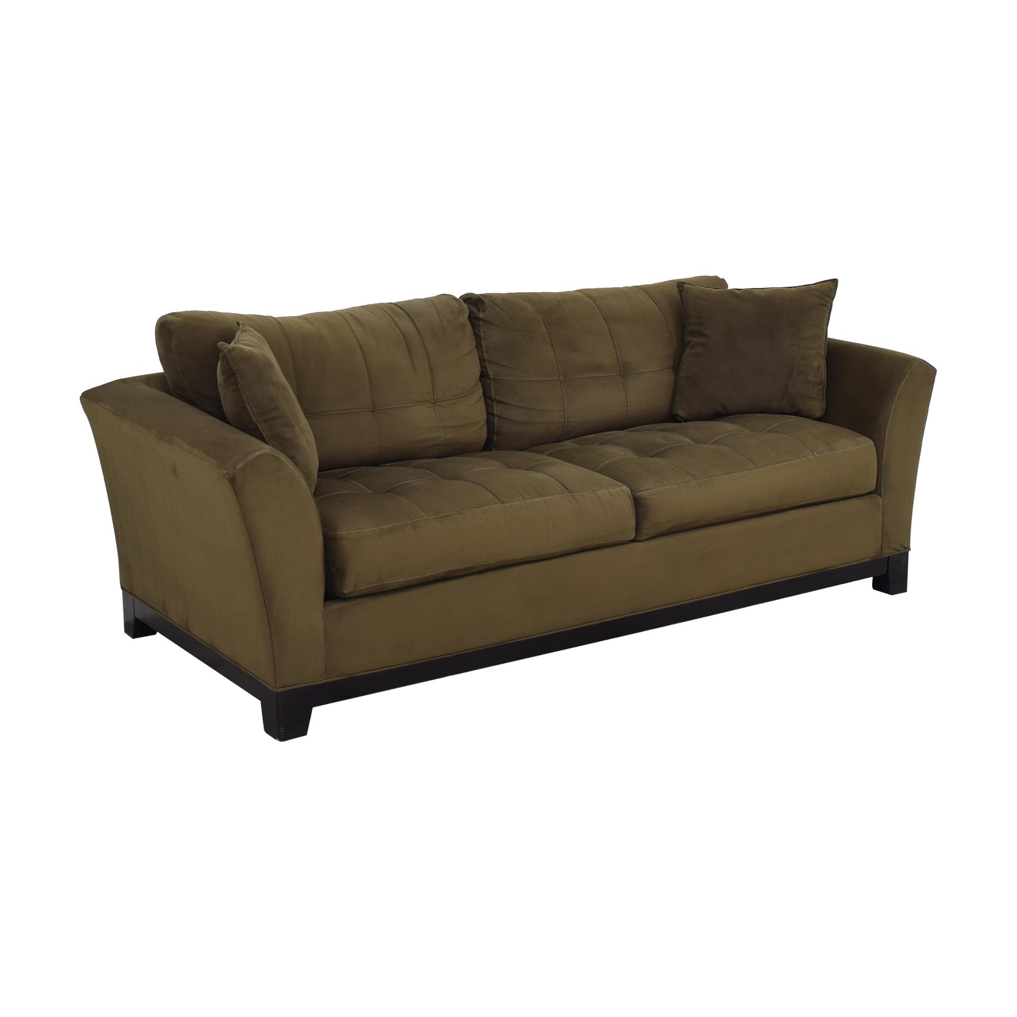 HM Richards Furniture HM Richards Furniture Loveseat with Ottoman Loveseats