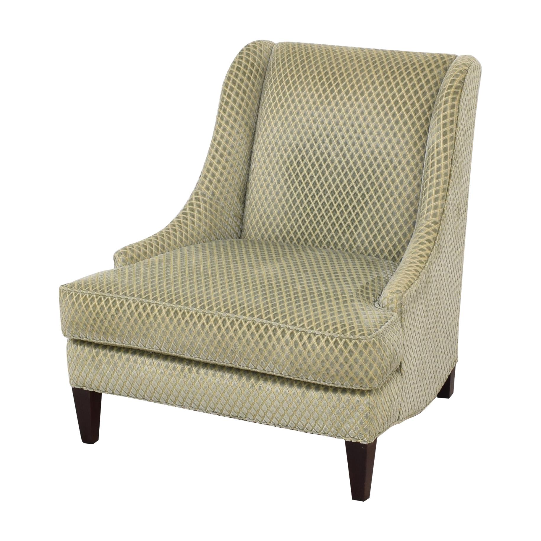 Hickory White Armless Chair Hickory White
