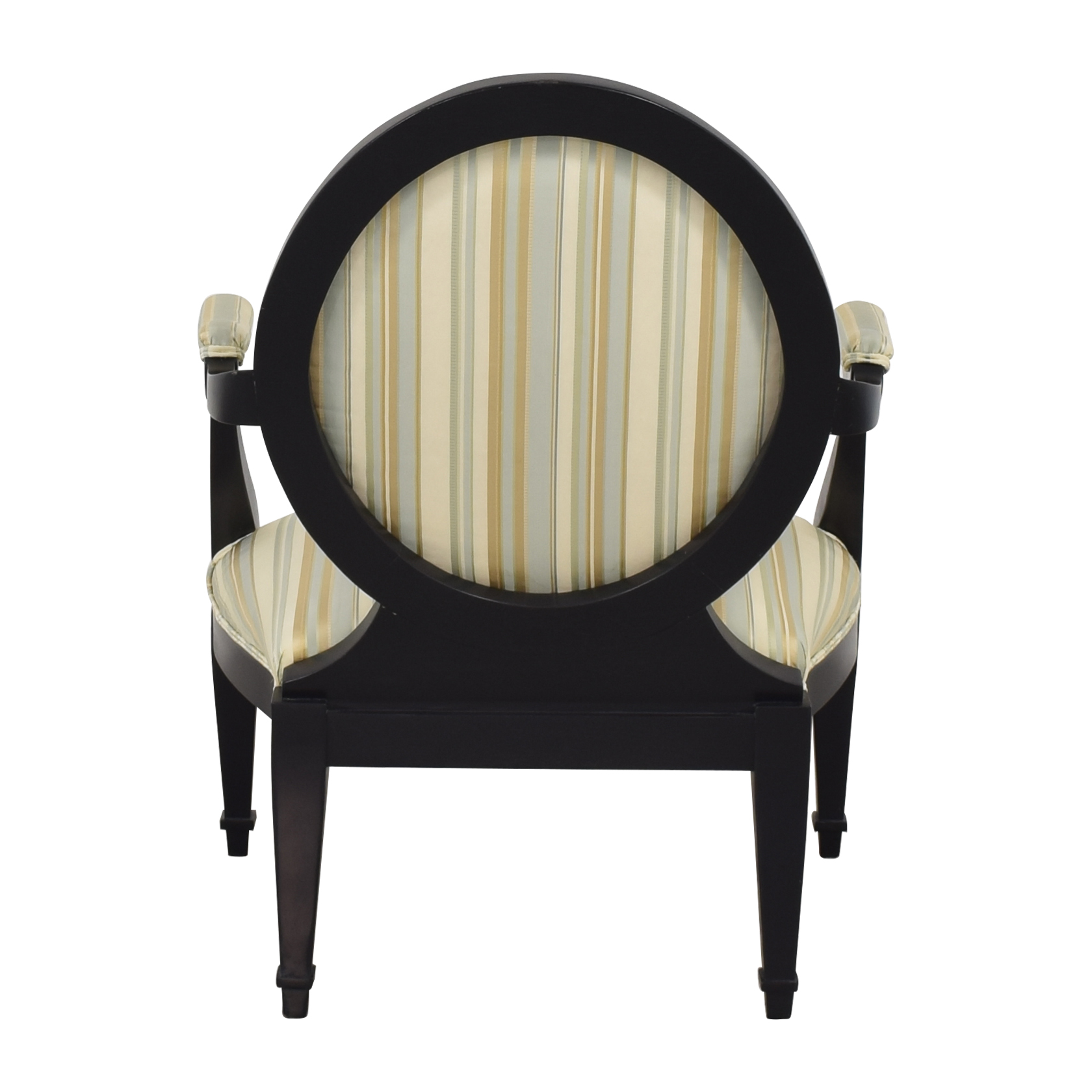 Hickory White Hickory White Silk and Wood Armchair coupon