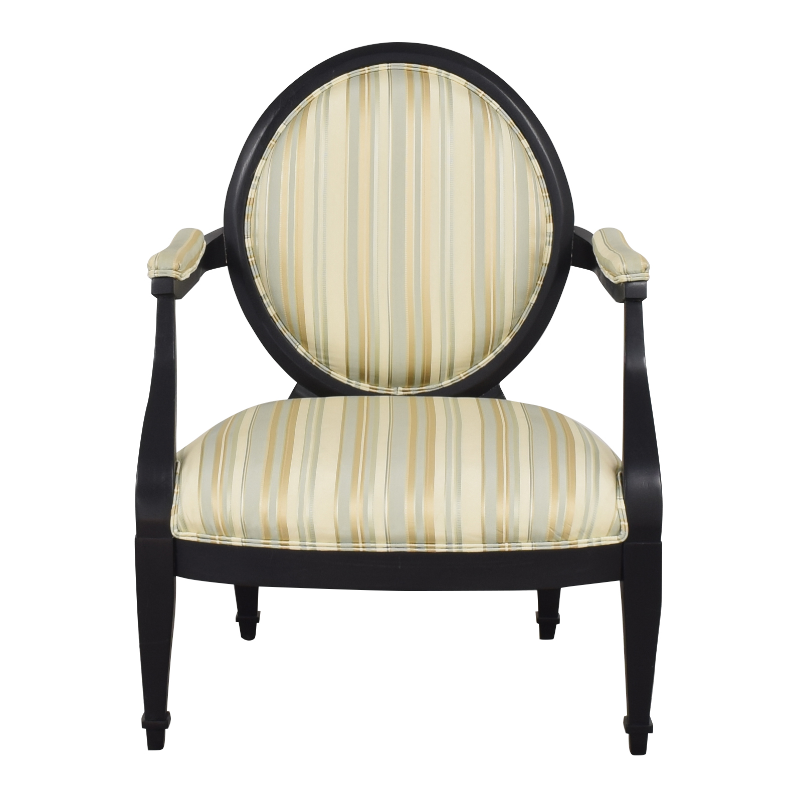 shop Hickory White Hickory White Silk and Wood Armchair online