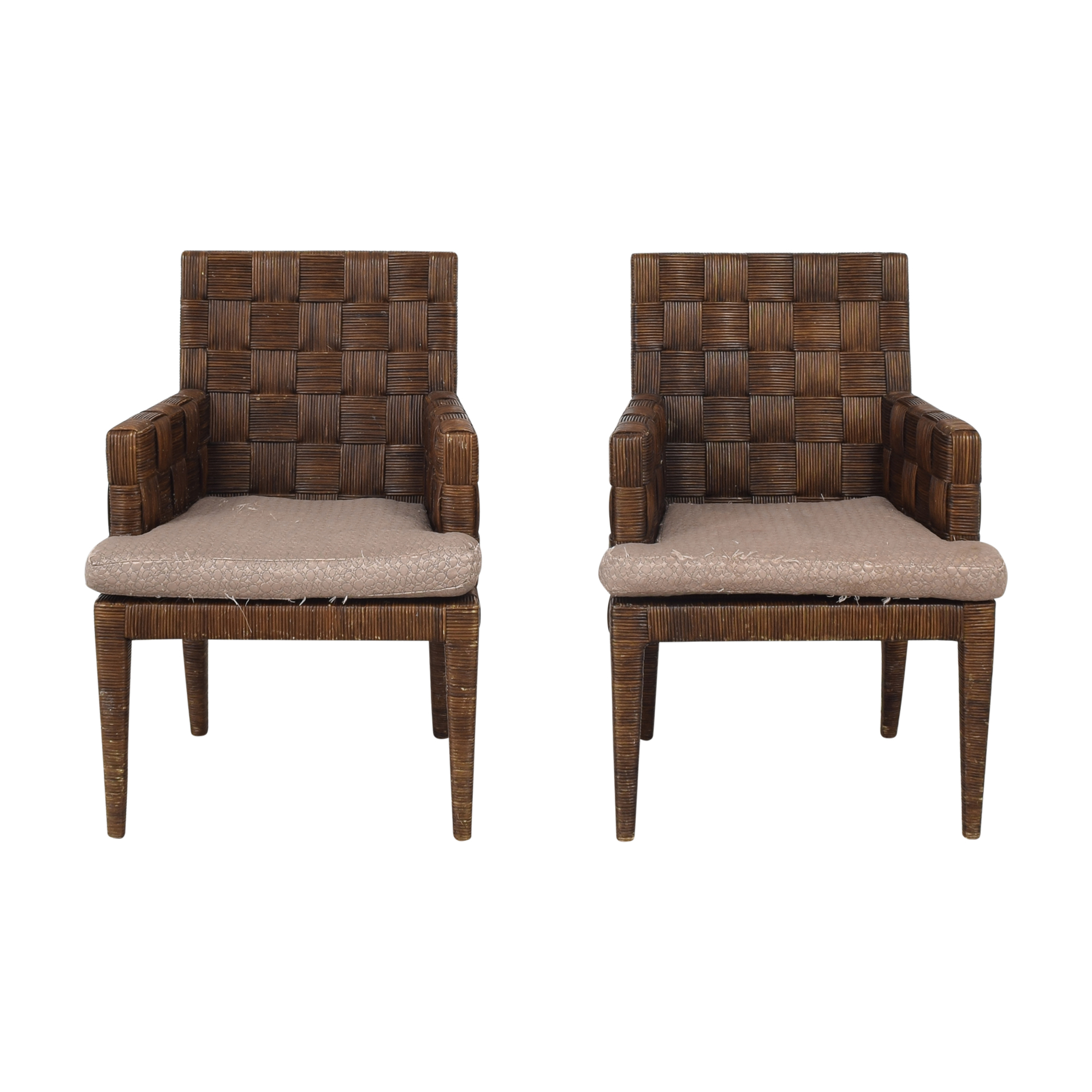 Donghia Donghia by John Hutton Block Island Dining Armchairs price