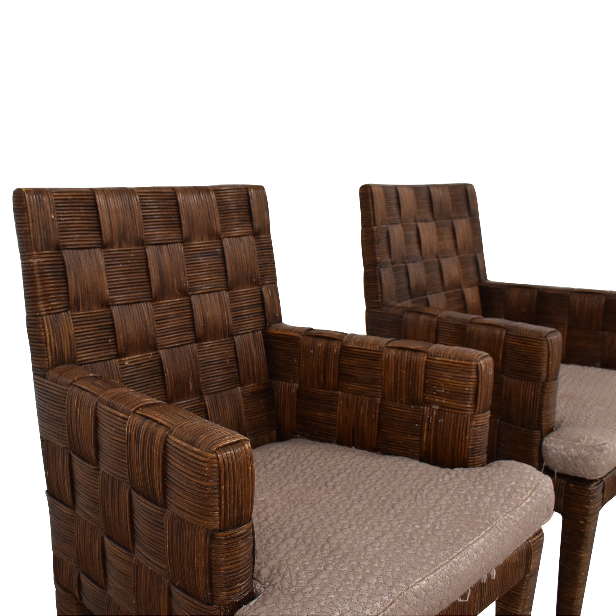 Donghia Donghia by John Hutton Block Island Dining Armchairs nj