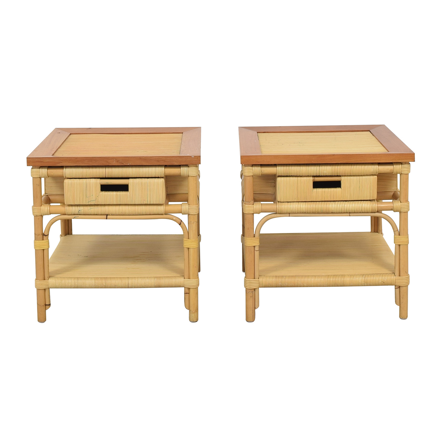 Donghia Donghia Modern Bamboo and Reed Tables pa