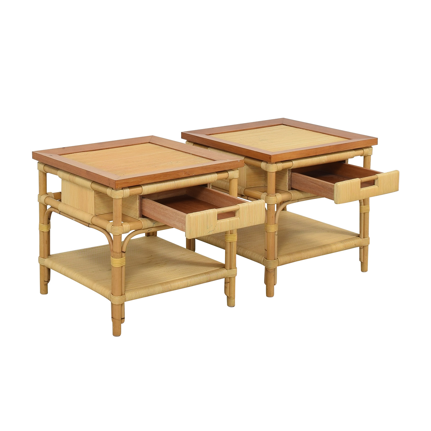 Donghia Donghia Modern Bamboo and Reed Tables price