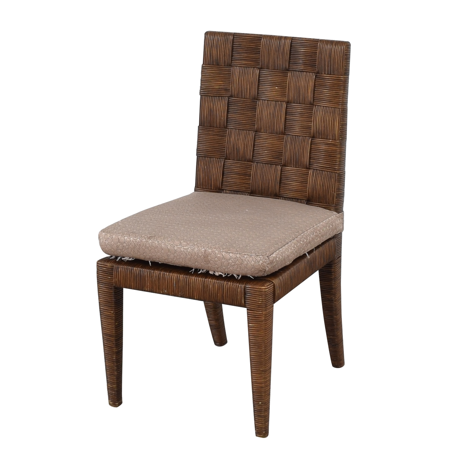 Donghia Donghia John Hutton Block Island Side Dining Chairs dimensions