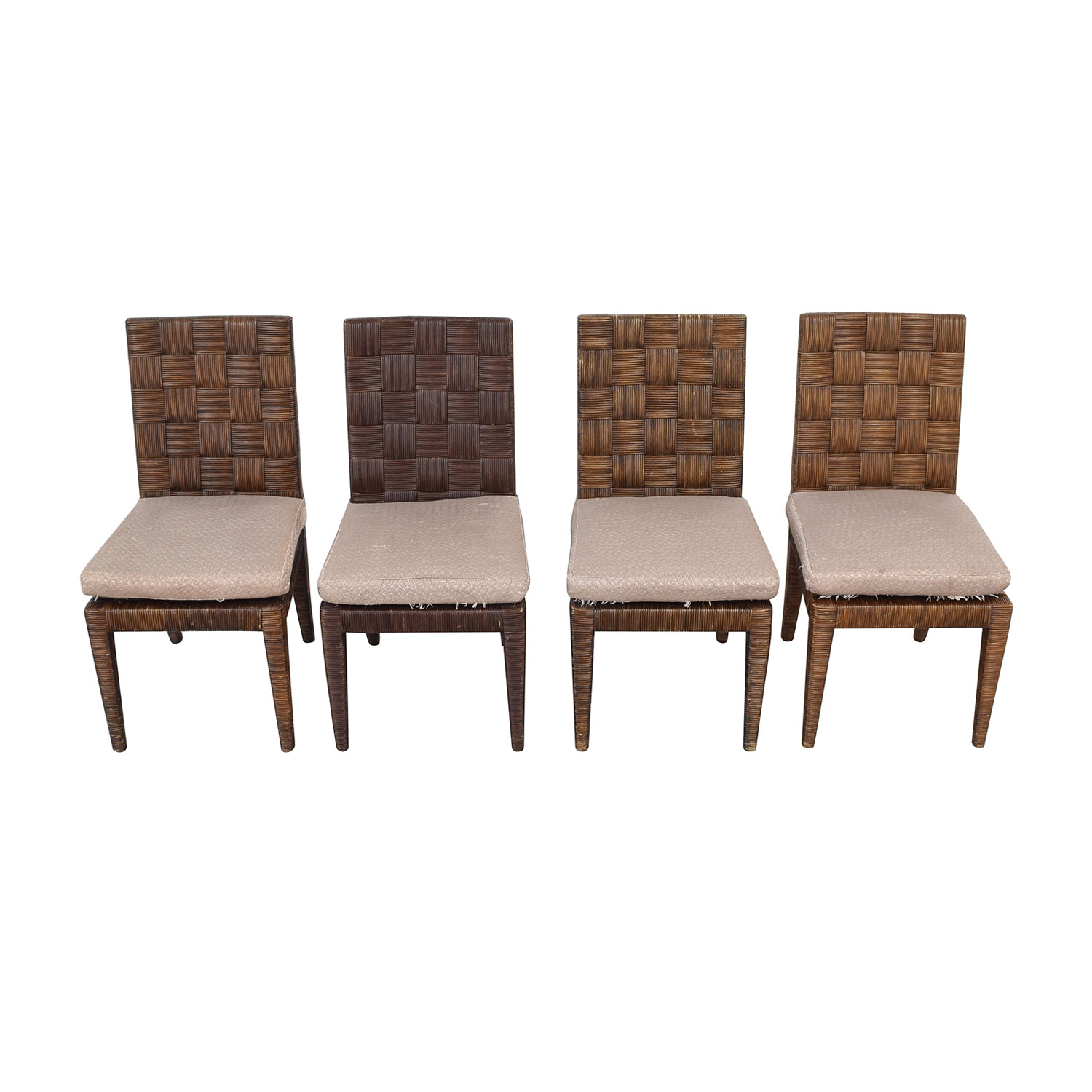 buy Donghia John Hutton Block Island Side Dining Chairs Donghia Chairs