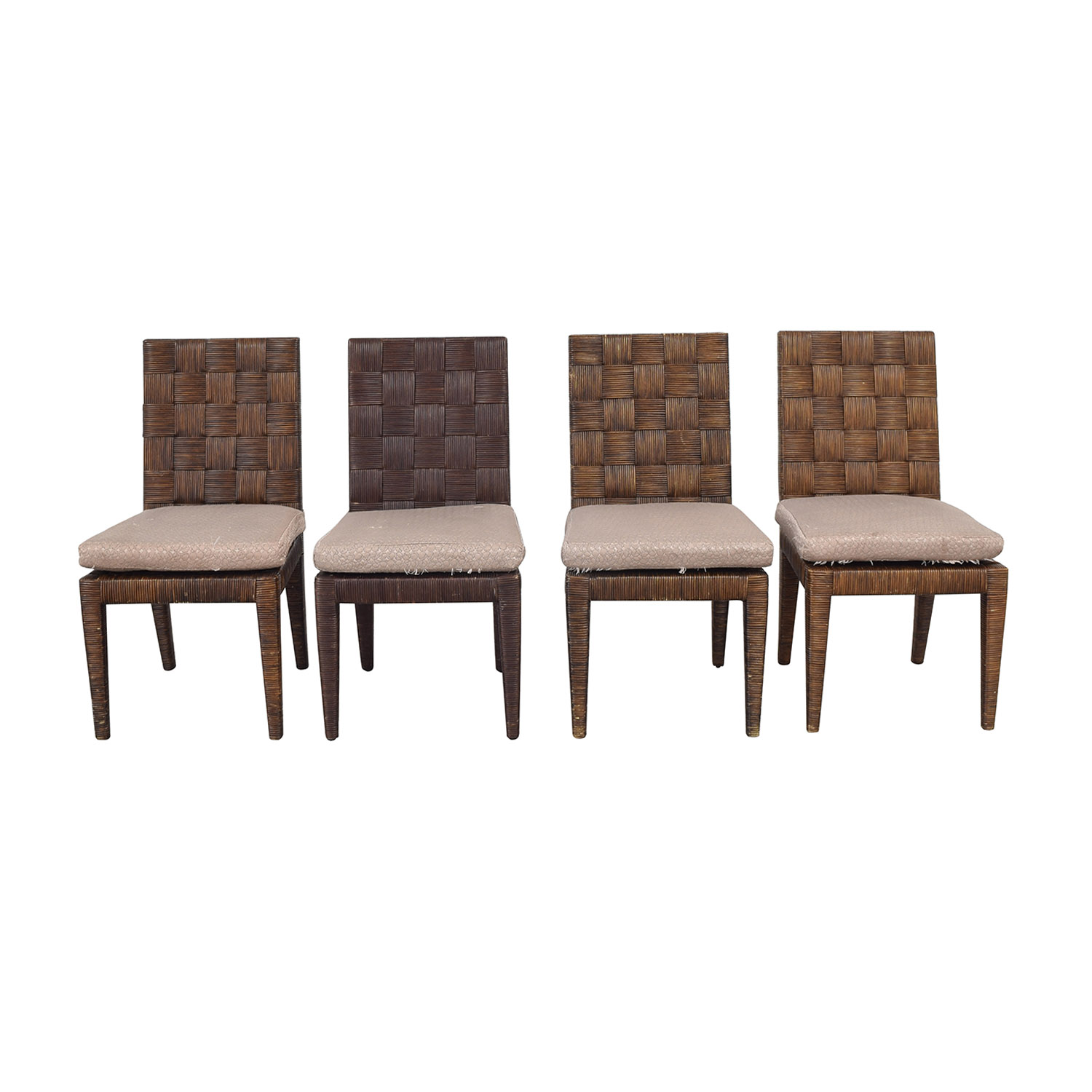 Donghia Donghia John Hutton Block Island Side Dining Chairs on sale