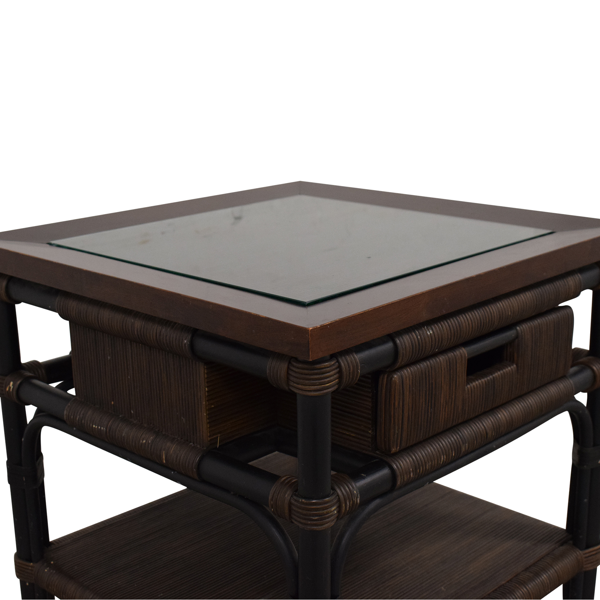 Donghia Donghia Modern Bamboo and Reed Table on sale