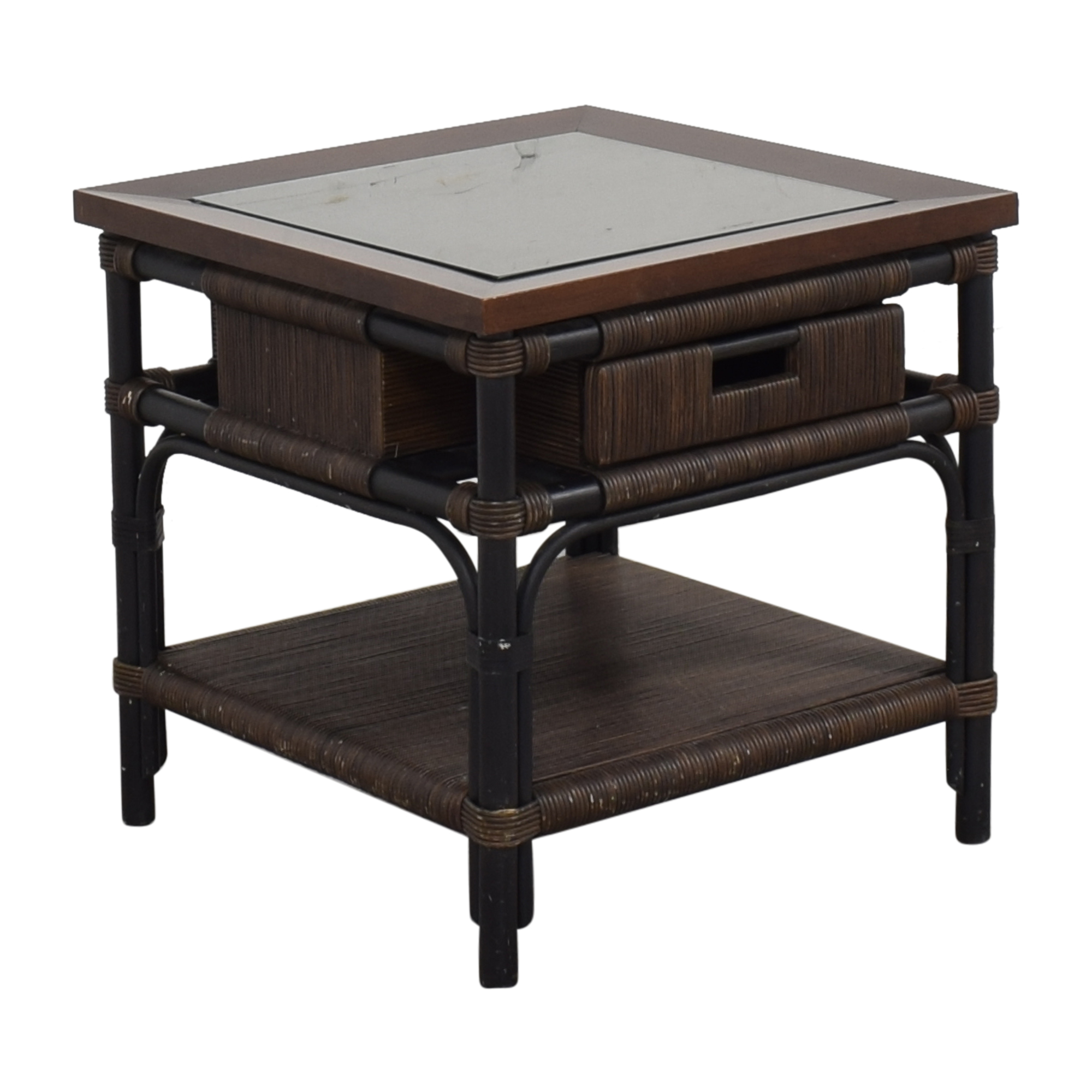 Donghia Modern Bamboo and Reed Table sale