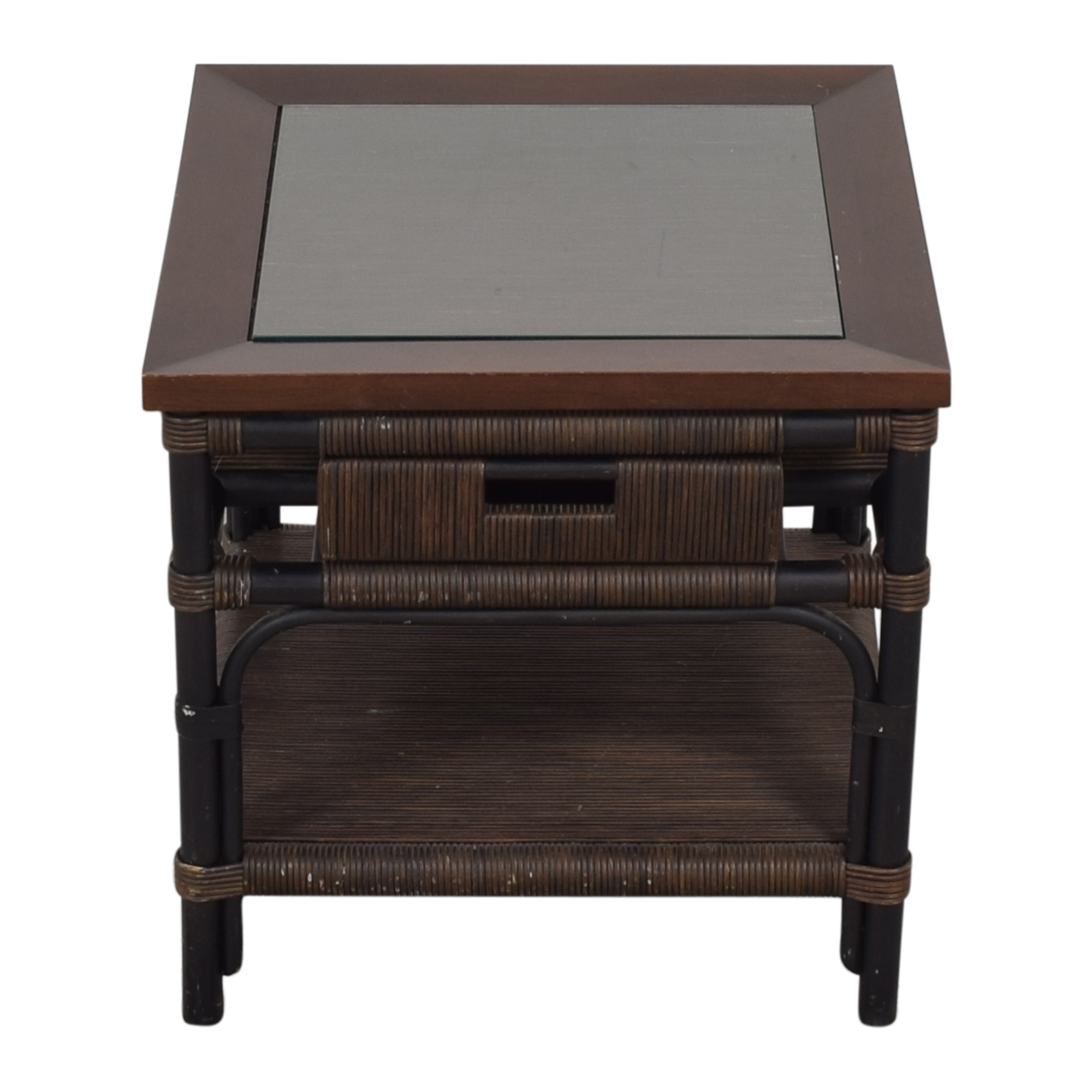 Donghia Donghia Modern Bamboo and Reed Table dimensions