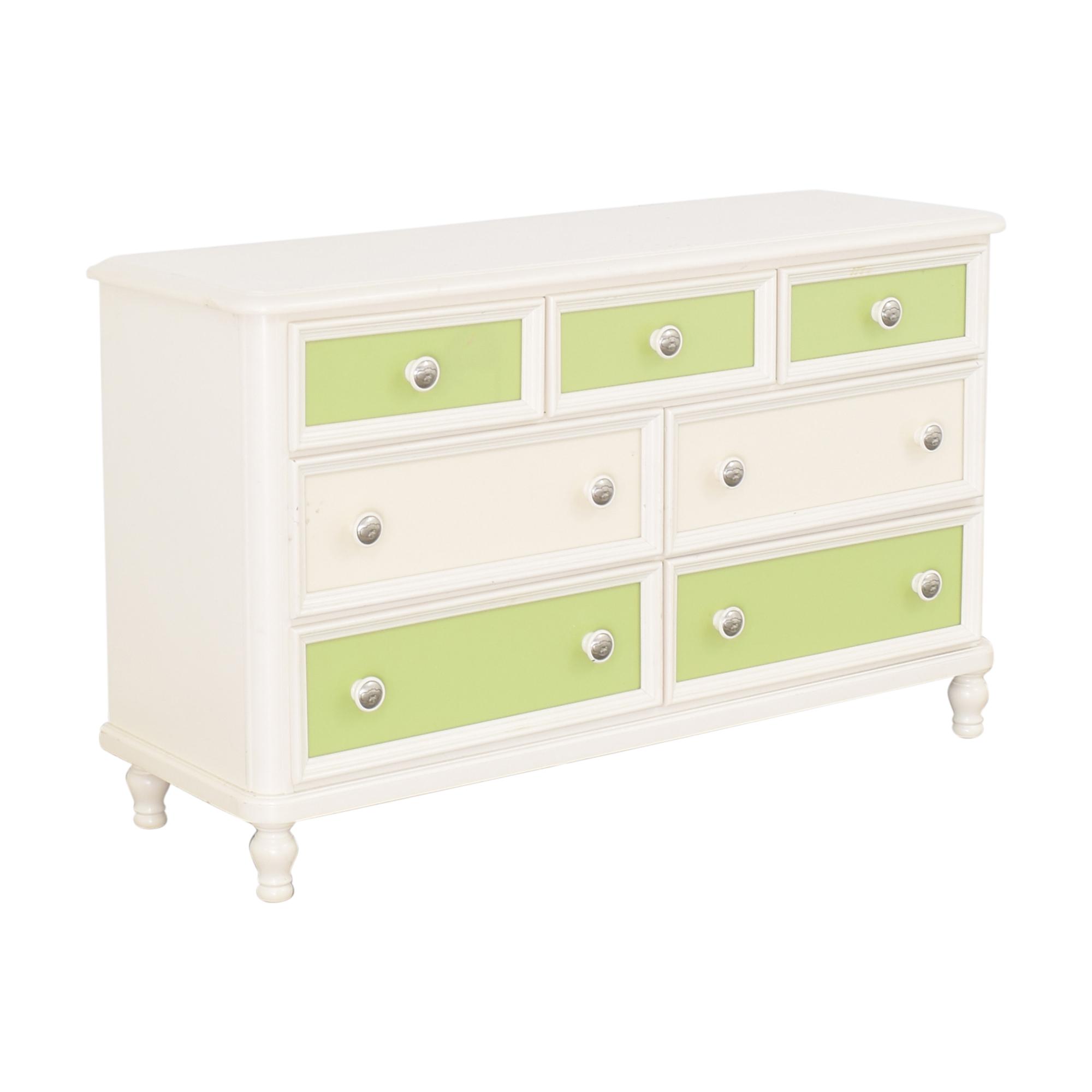 buy Raymour & Flanigan Colored Panel Dresser Raymour & Flanigan