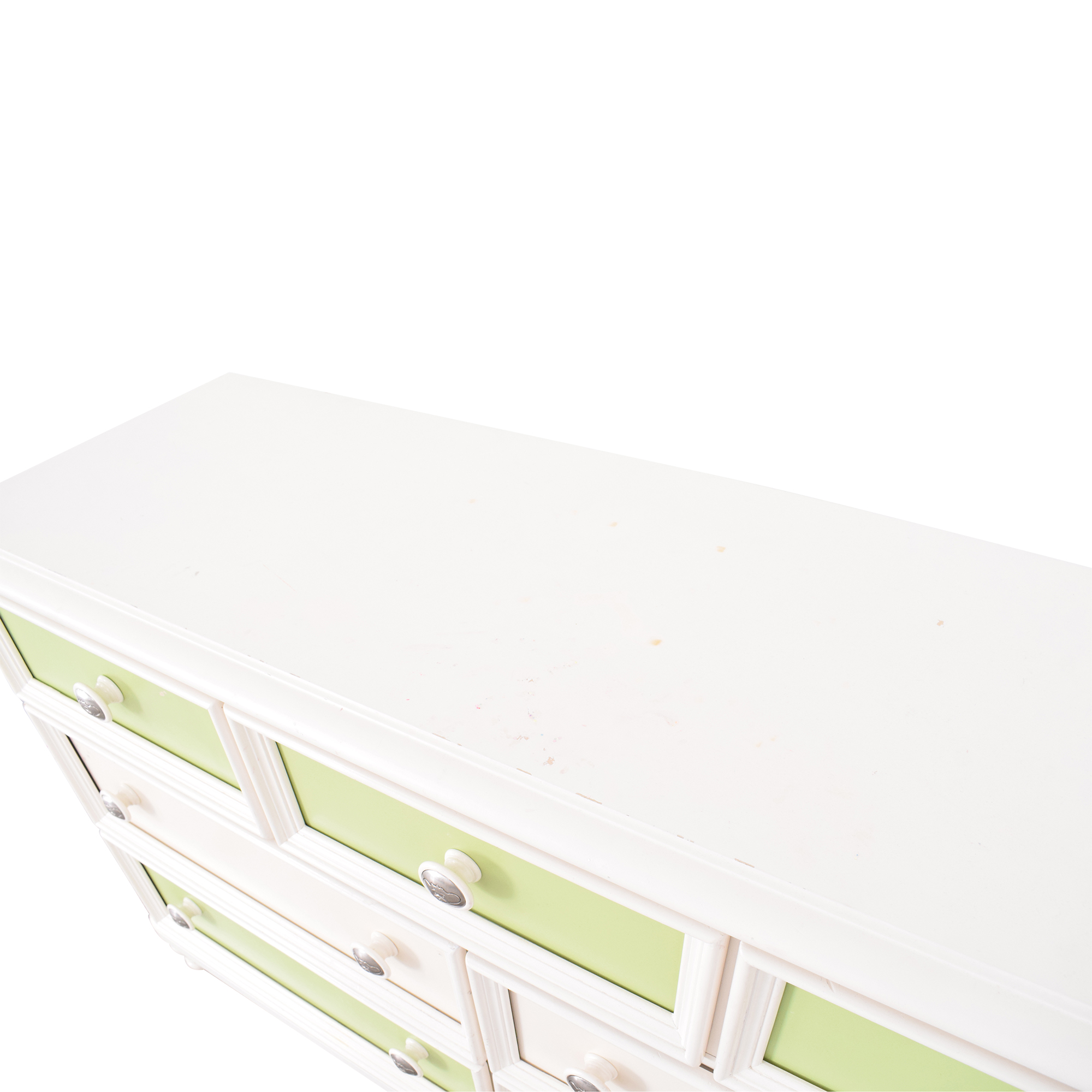 Raymour & Flanigan Raymour & Flanigan Colored Panel Dresser used