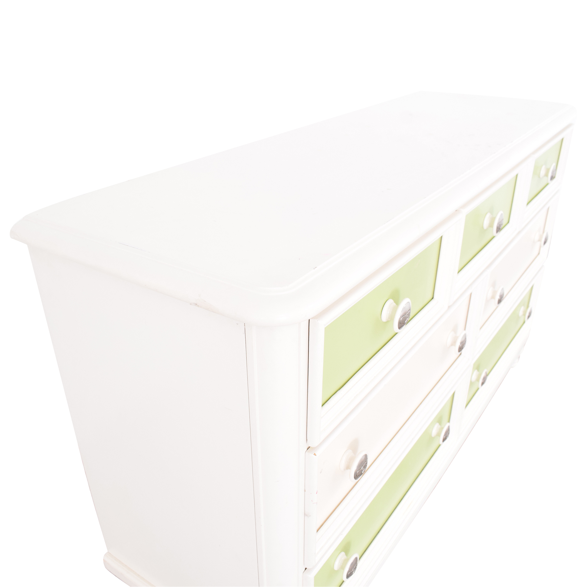 Raymour & Flanigan Colored Panel Dresser / Dressers