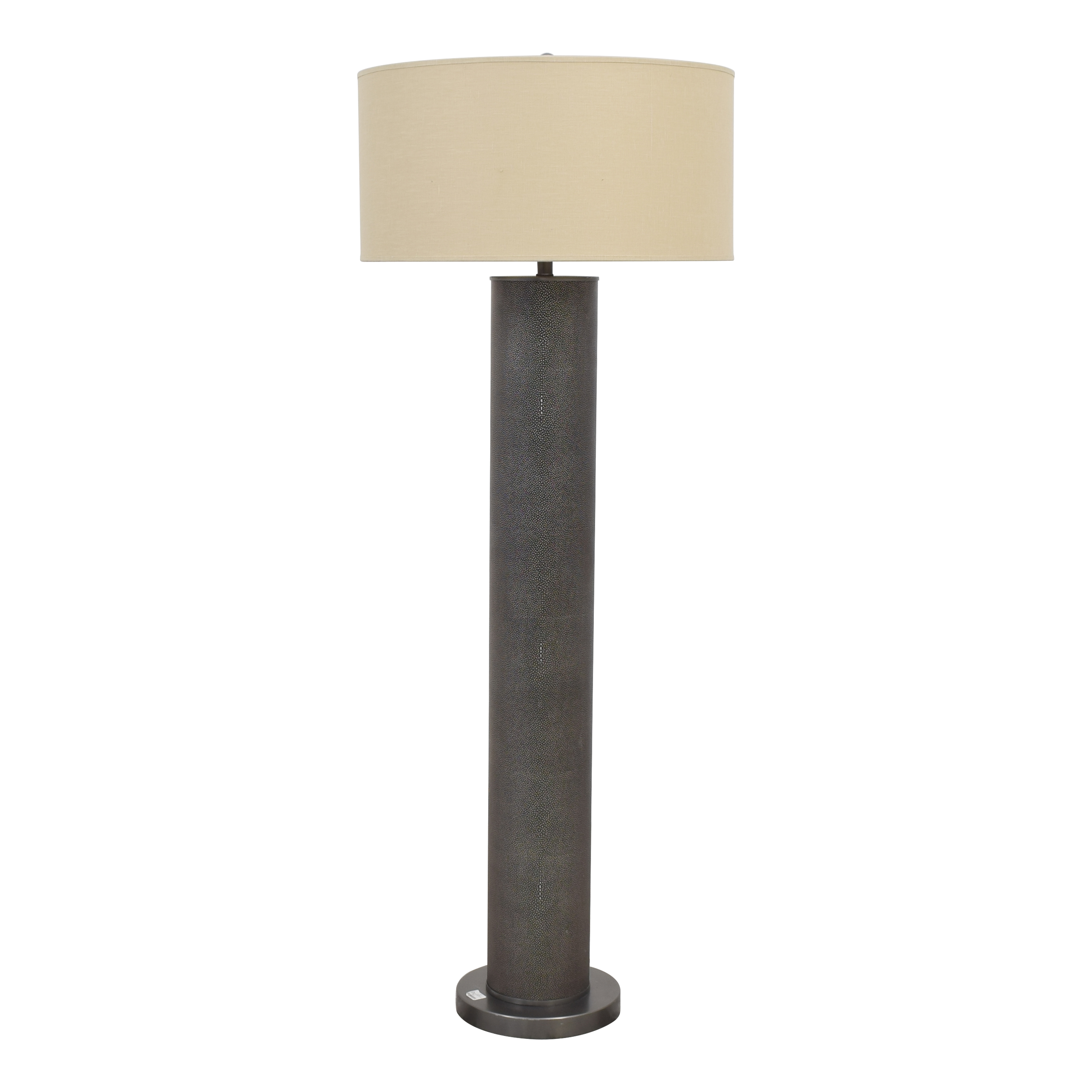 Restoration Hardware Restoration Hardware Delano Shaygreen Cylinder Lamp second hand