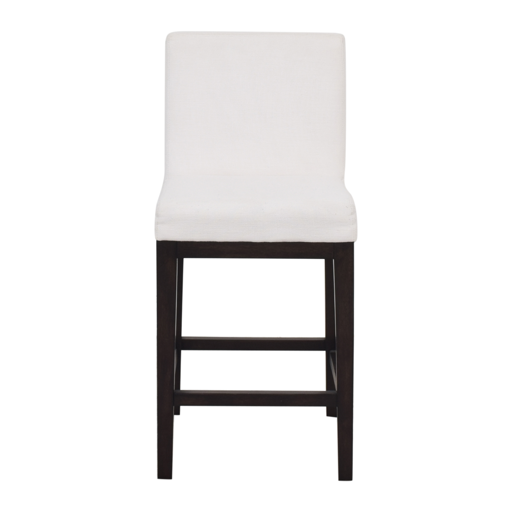 Restoration Hardware Morgan Armless Fabric Stool sale