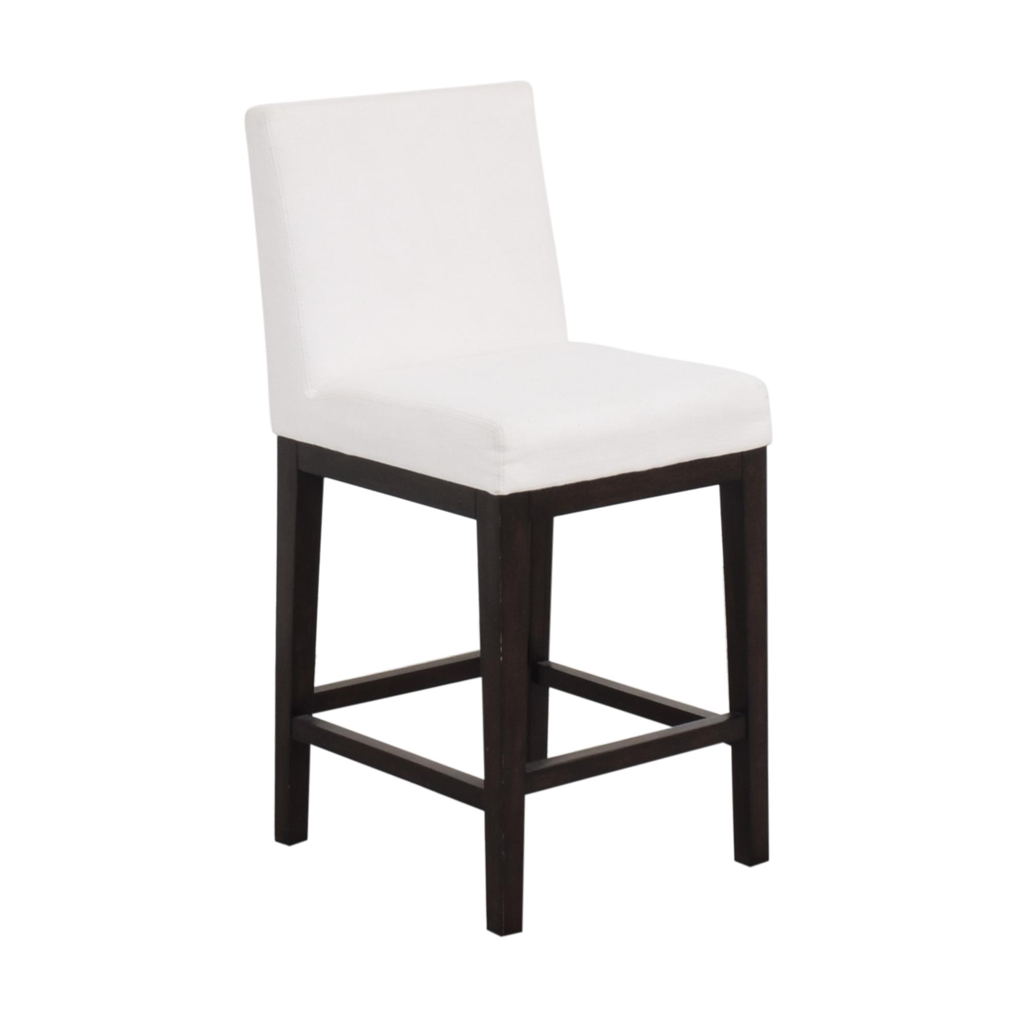 shop Restoration Hardware Morgan Armless Fabric Stool Restoration Hardware Chairs