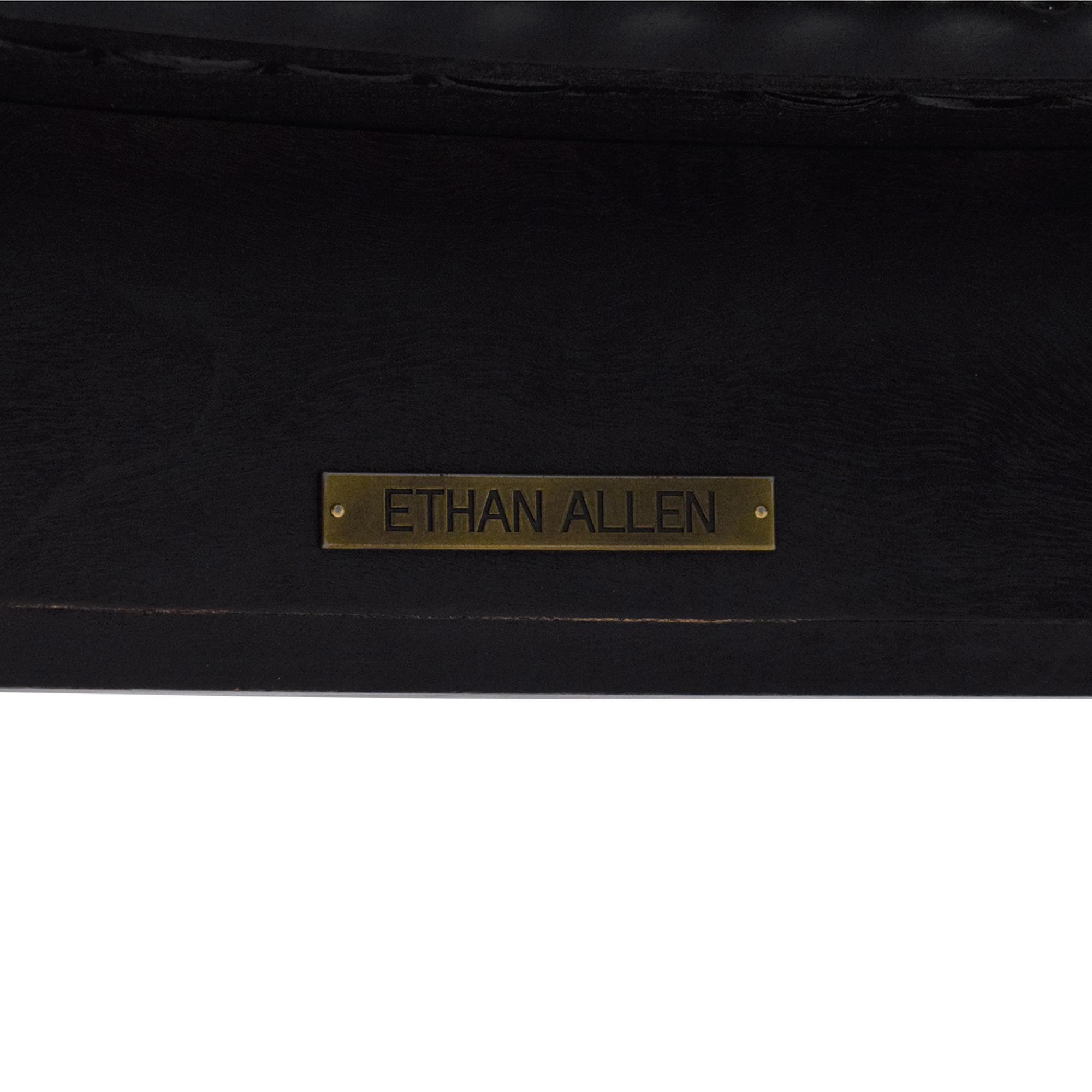 shop Ethan Allen Maya Round Coffee Table Ethan Allen