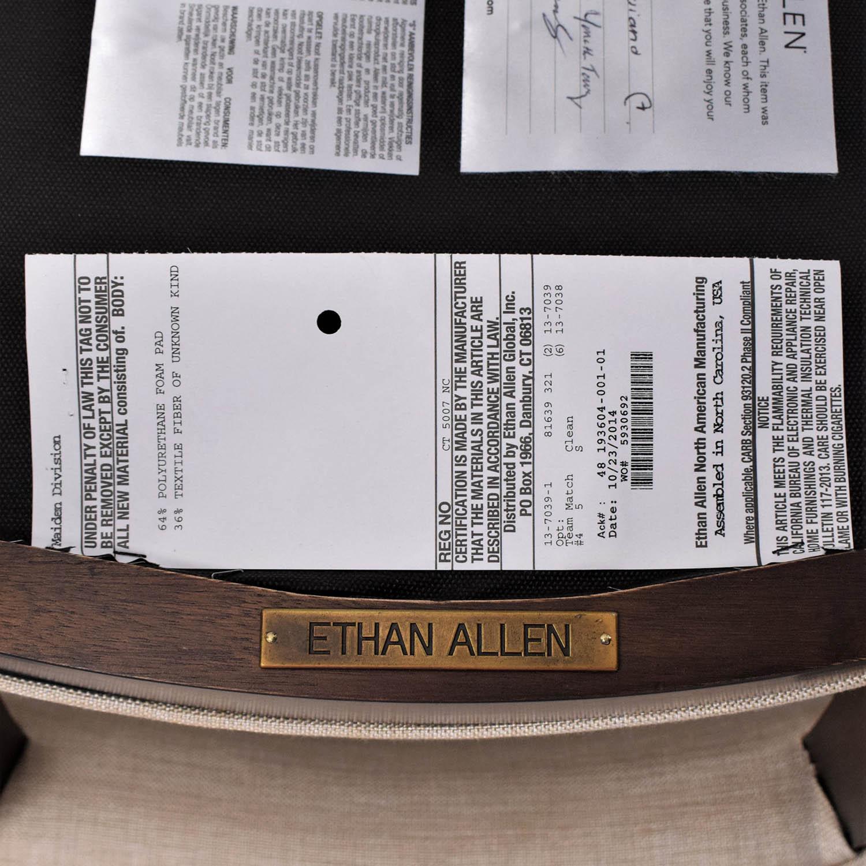 Ethan Allen Drew Armchairs sale