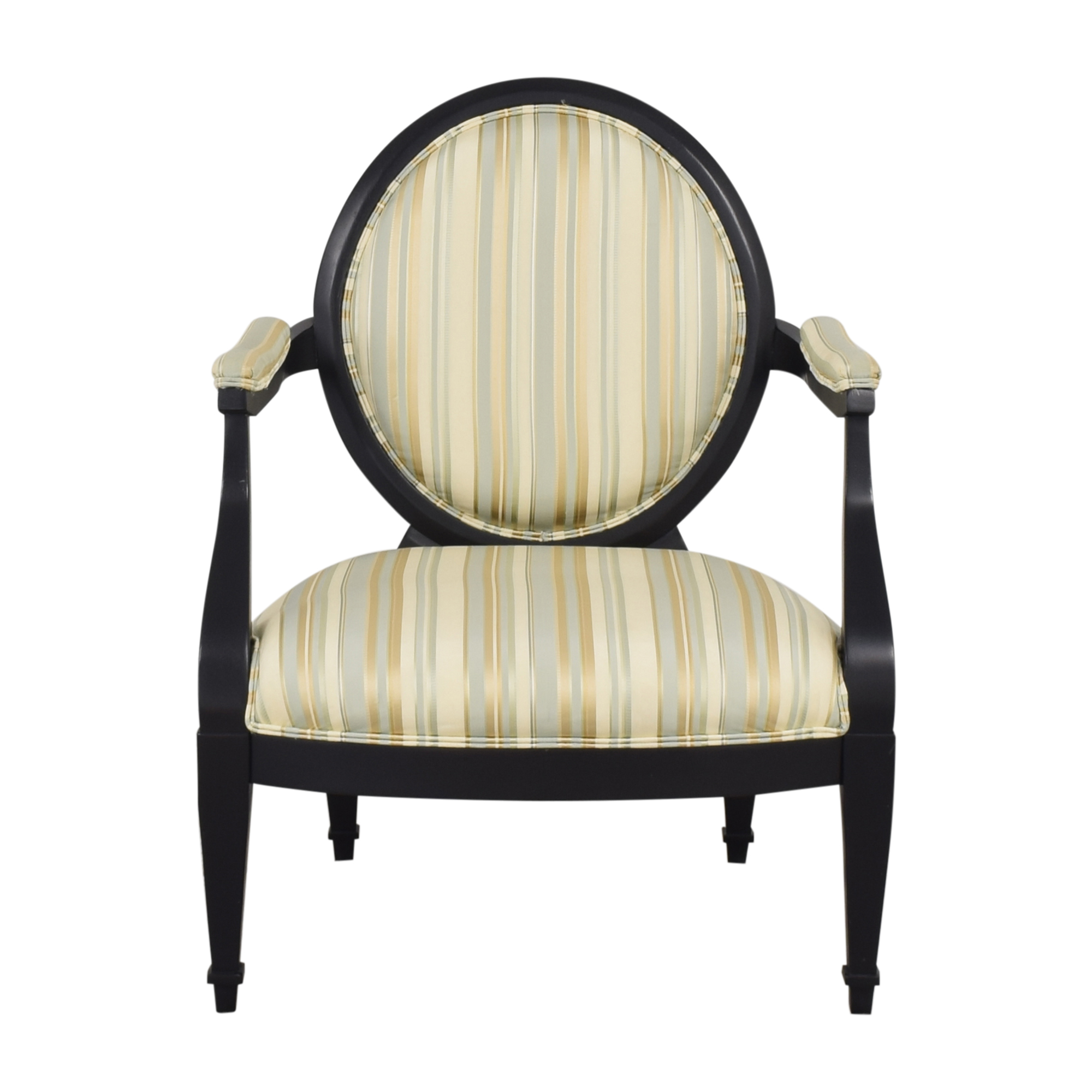 Hickory White Hickory White Silk and Wood Armchair Accent Chairs