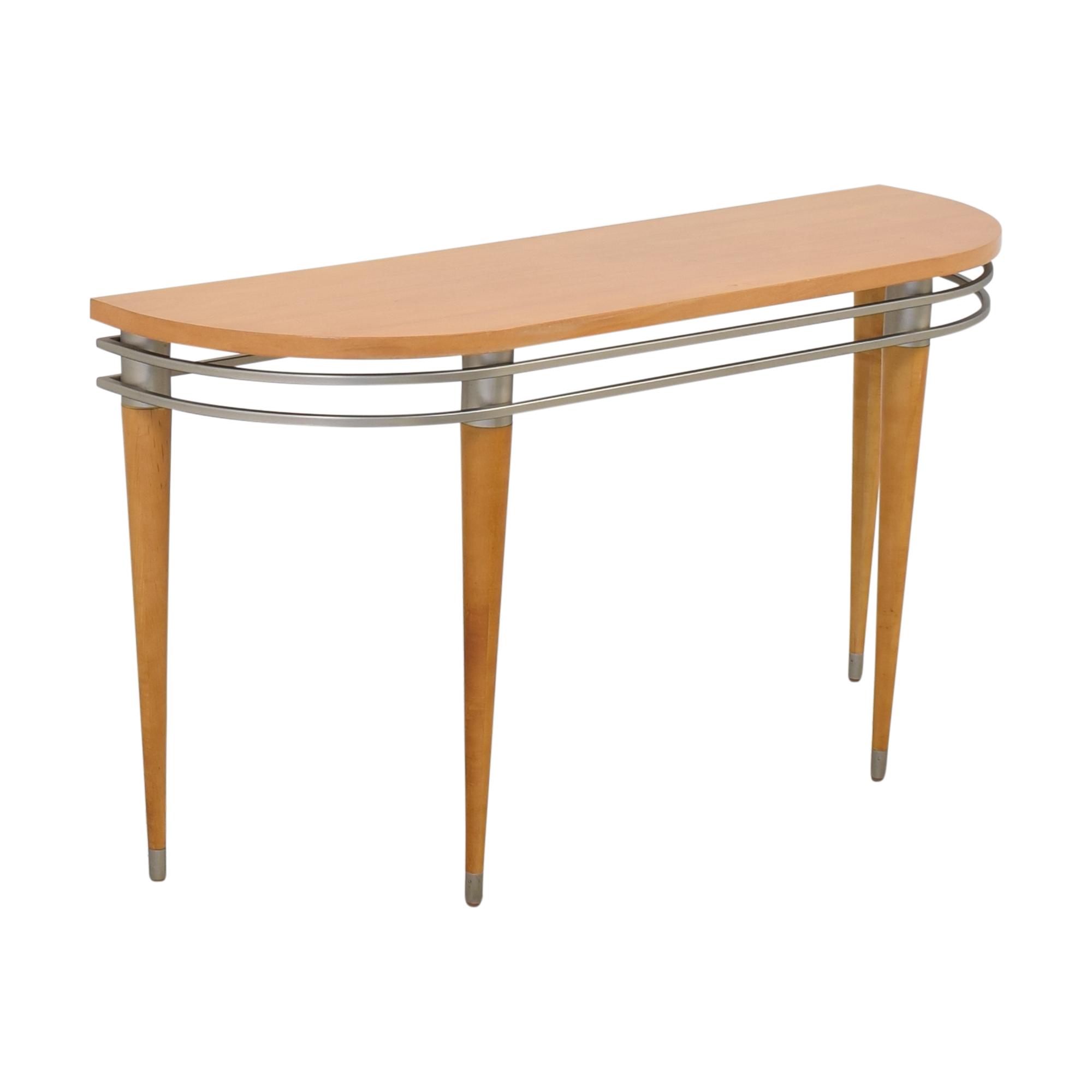 Ethan Allen Ethan Allen Radius Sofa Console Table nj