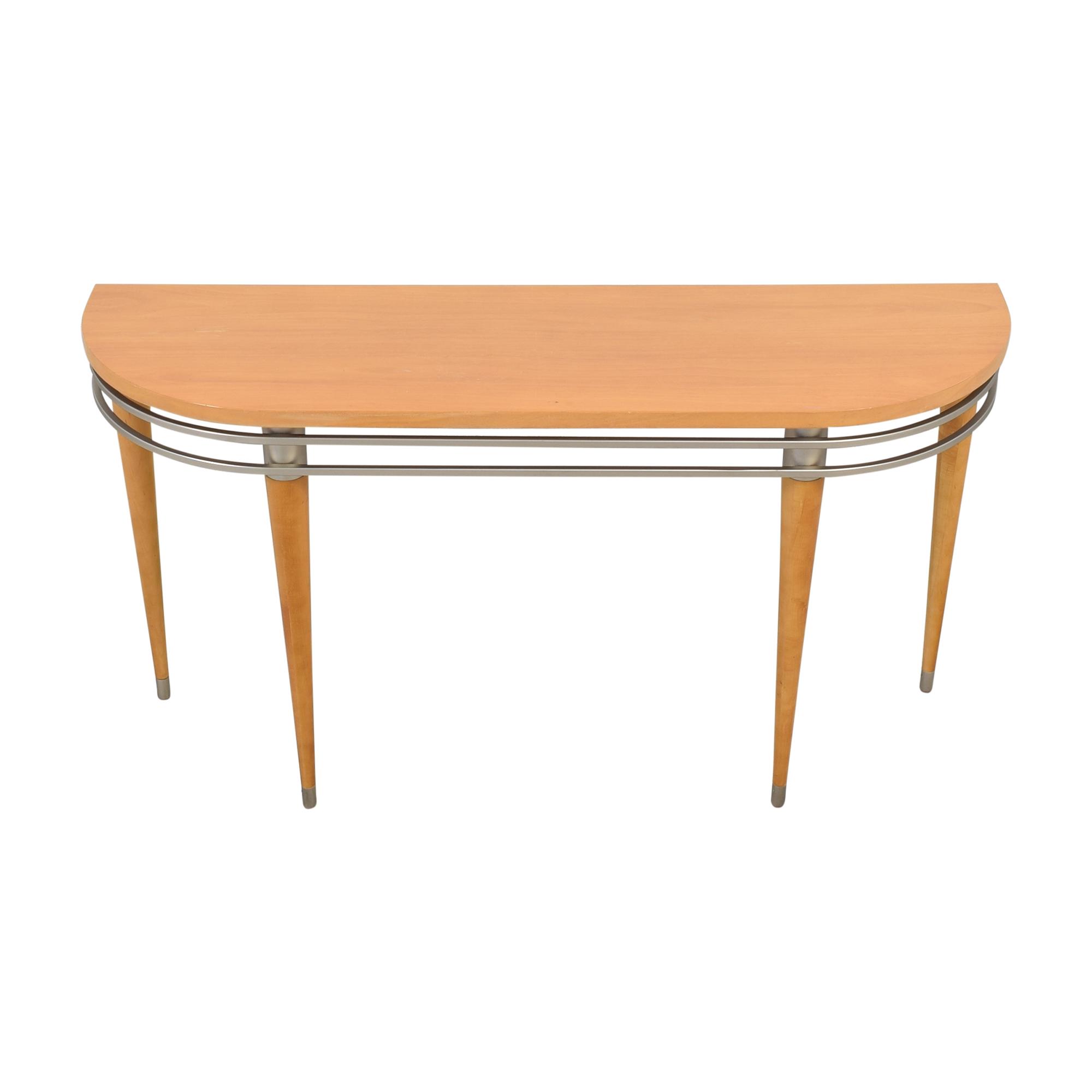 shop Ethan Allen Radius Sofa Console Table Ethan Allen