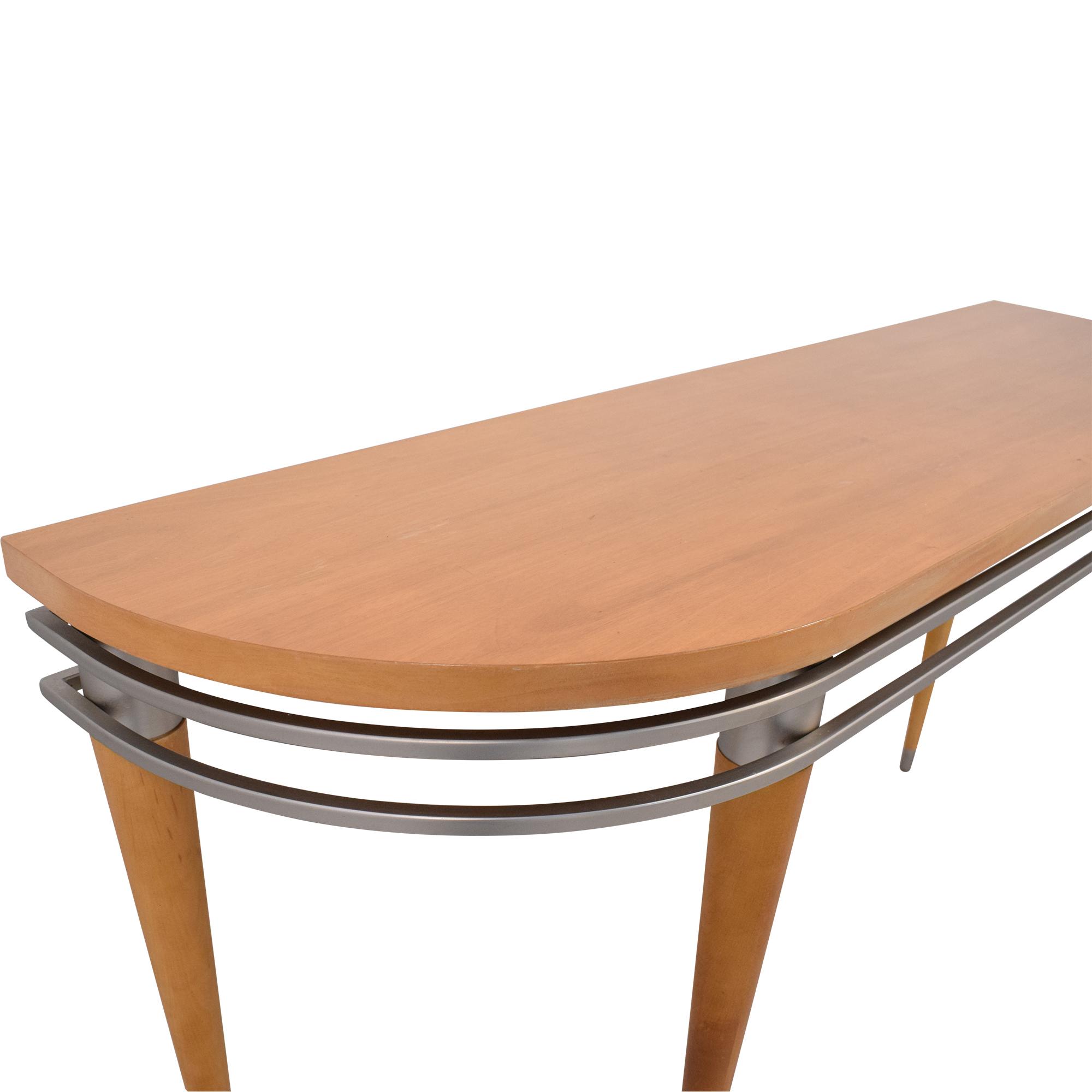 Ethan Allen Ethan Allen Radius Sofa Console Table used