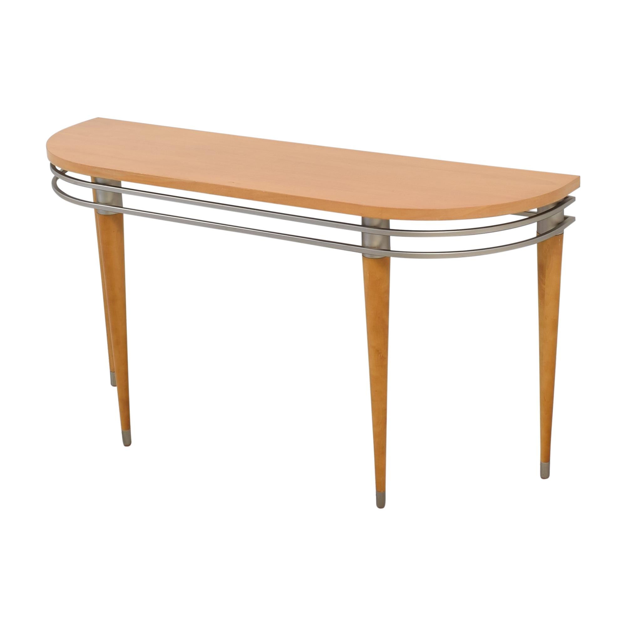 Ethan Allen Ethan Allen Radius Sofa Console Table nyc