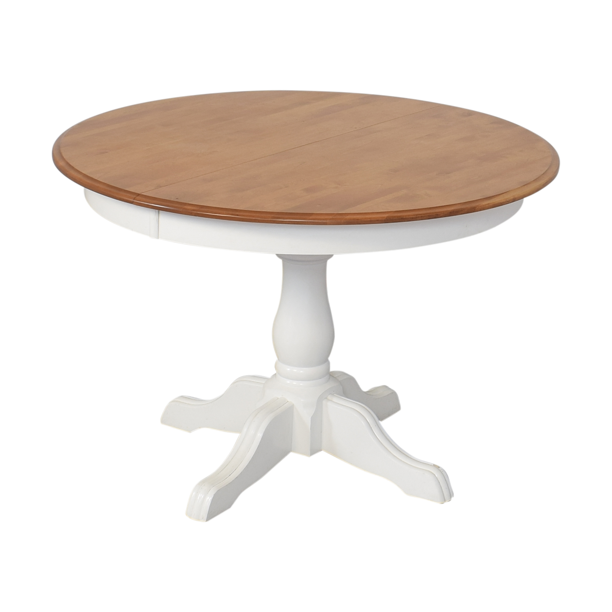 Pedestal Extended Dining Table Tables