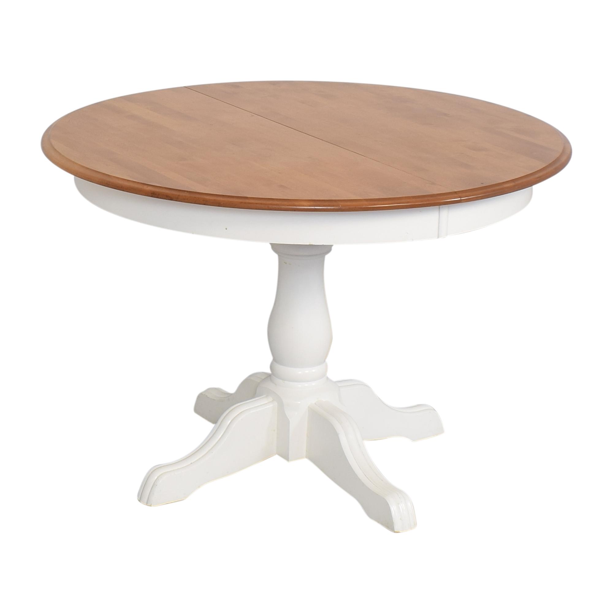 shop Pedestal Extended Dining Table