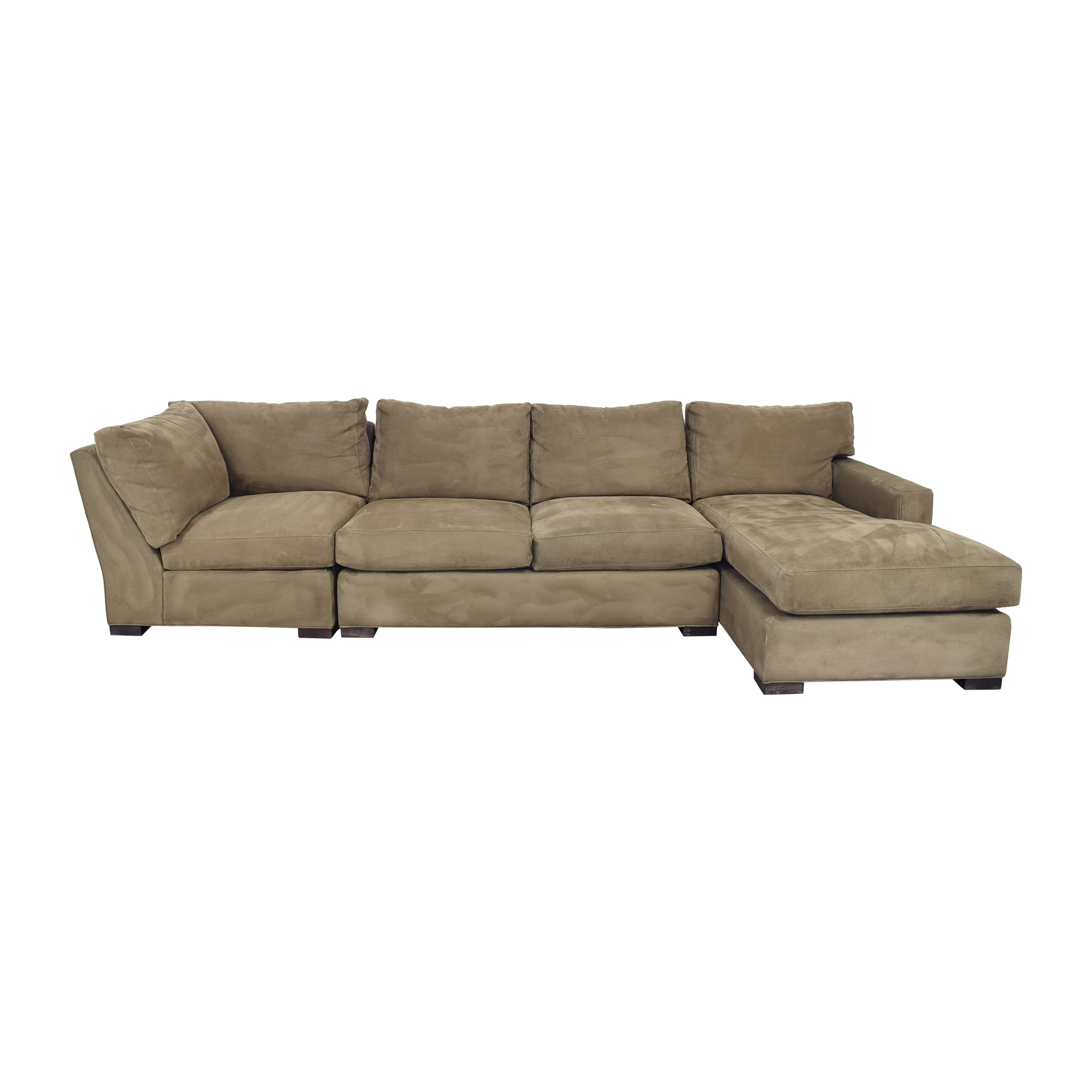 Crate & Barrel Crate & Barrel Custom Axis Sectional Sofa on sale