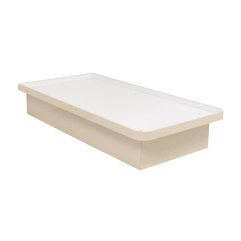buy Platform Twin Bed Frame  Beds