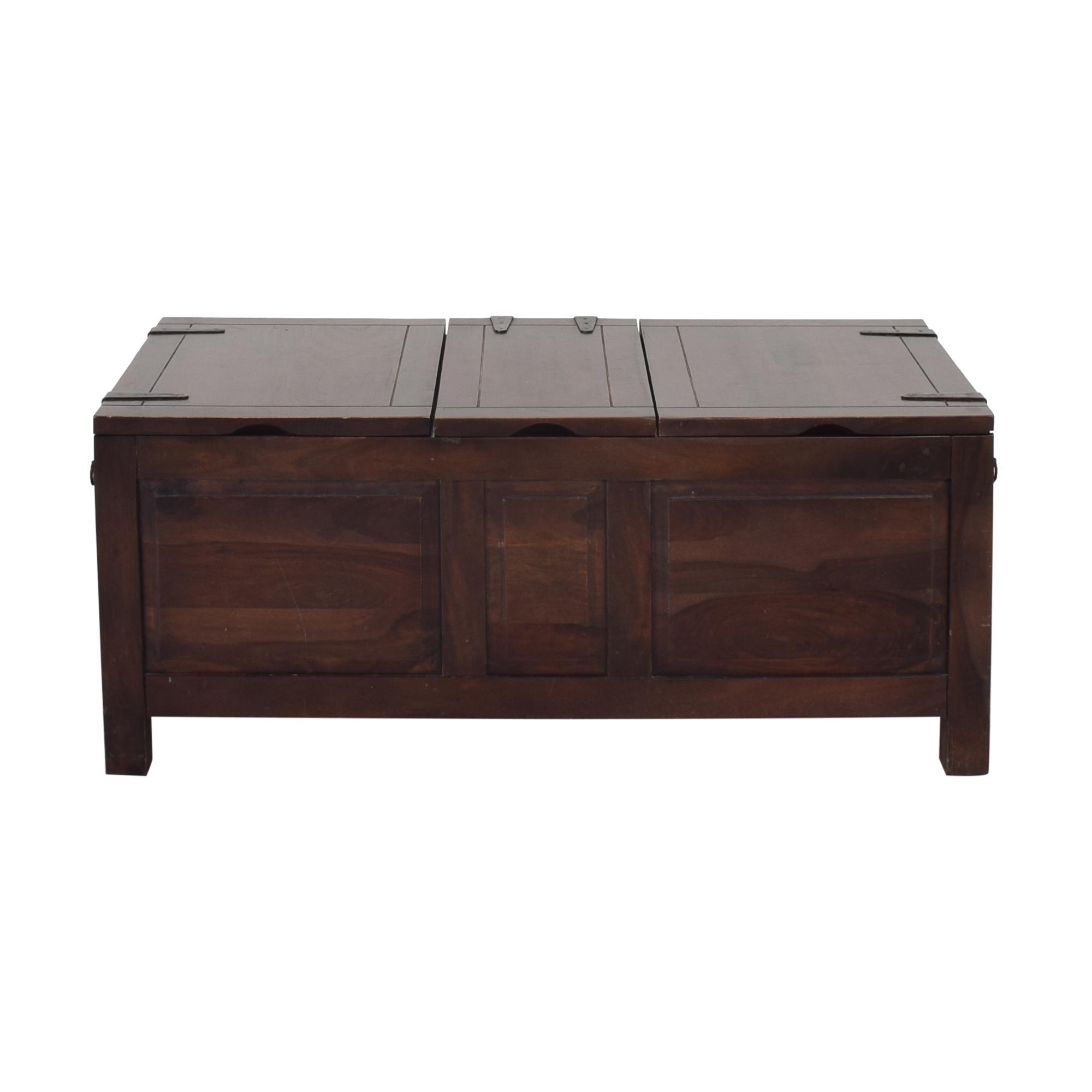 Crate & Barrel Crate & Barrel Hunter II Trunk Table Storage
