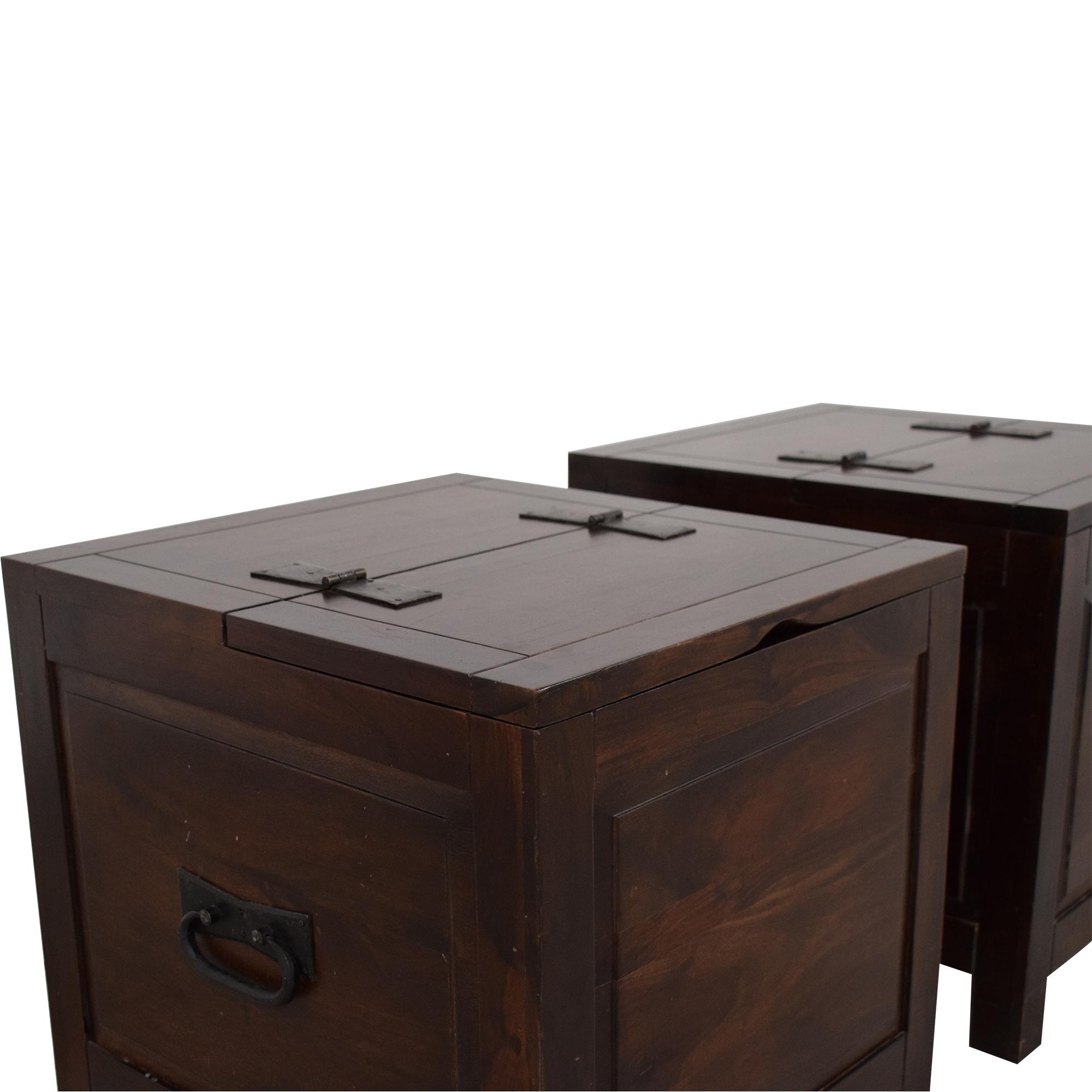 Crate & Barrel Crate & Barrel Hunter Side Trunks ma