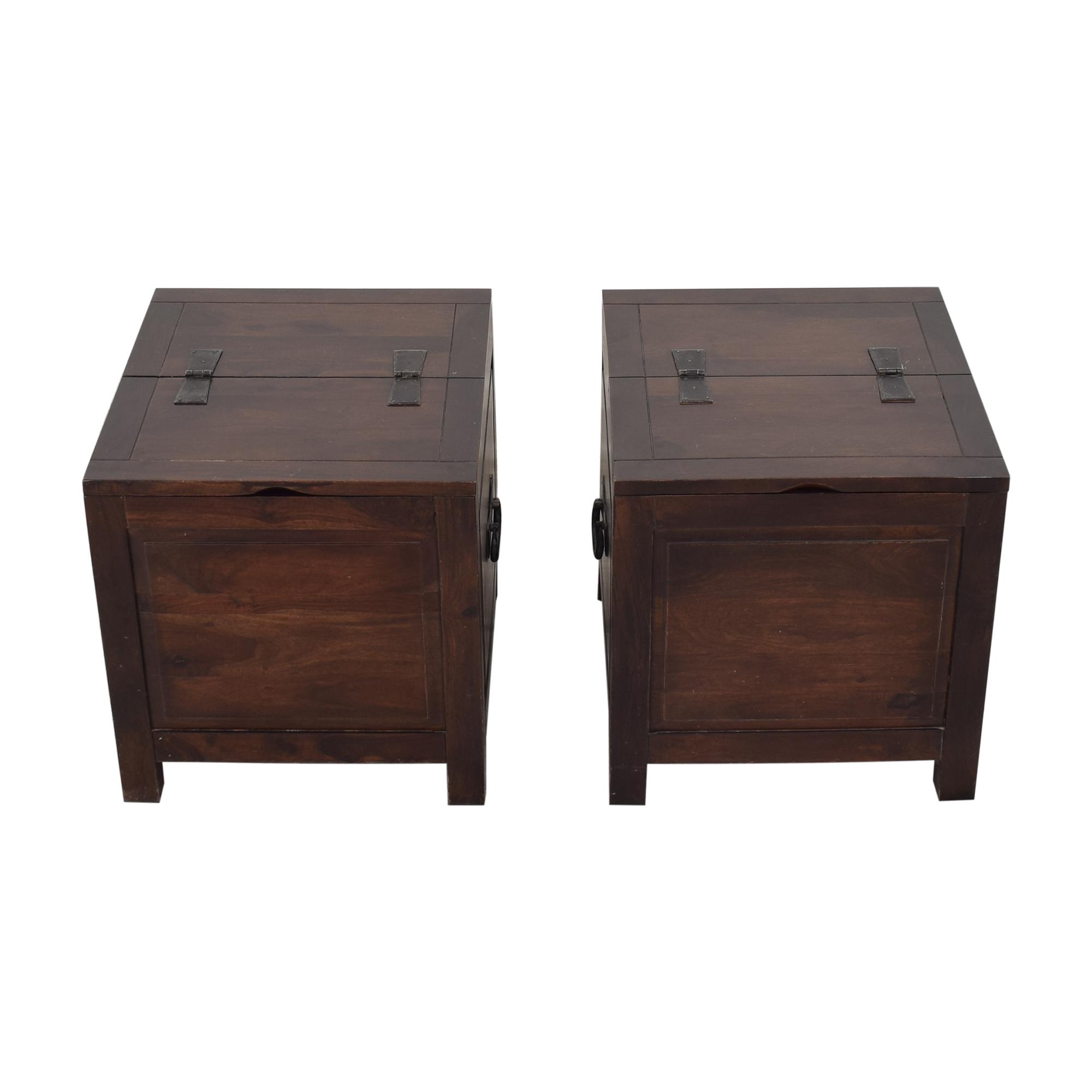 Crate & Barrel Hunter Side Trunks / Trunks