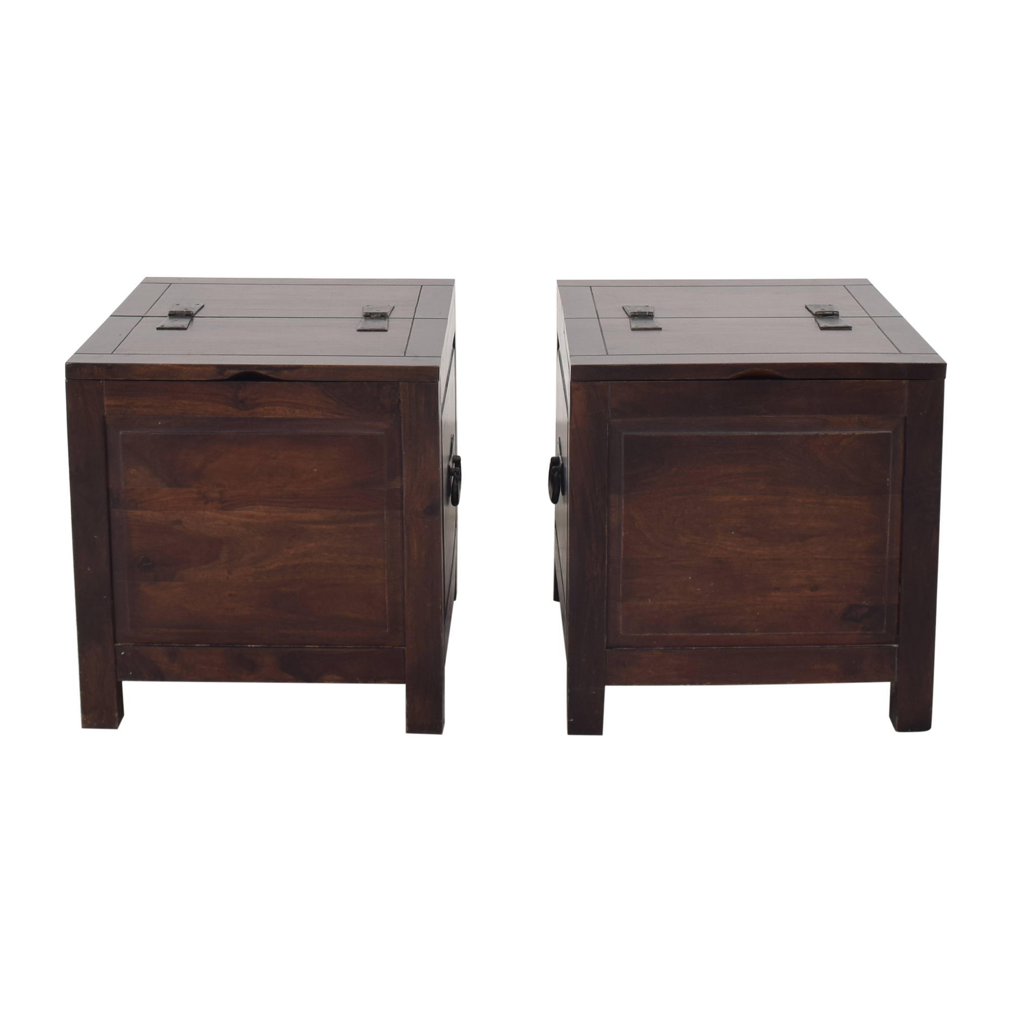 Crate & Barrel Crate & Barrel Hunter Side Trunks for sale