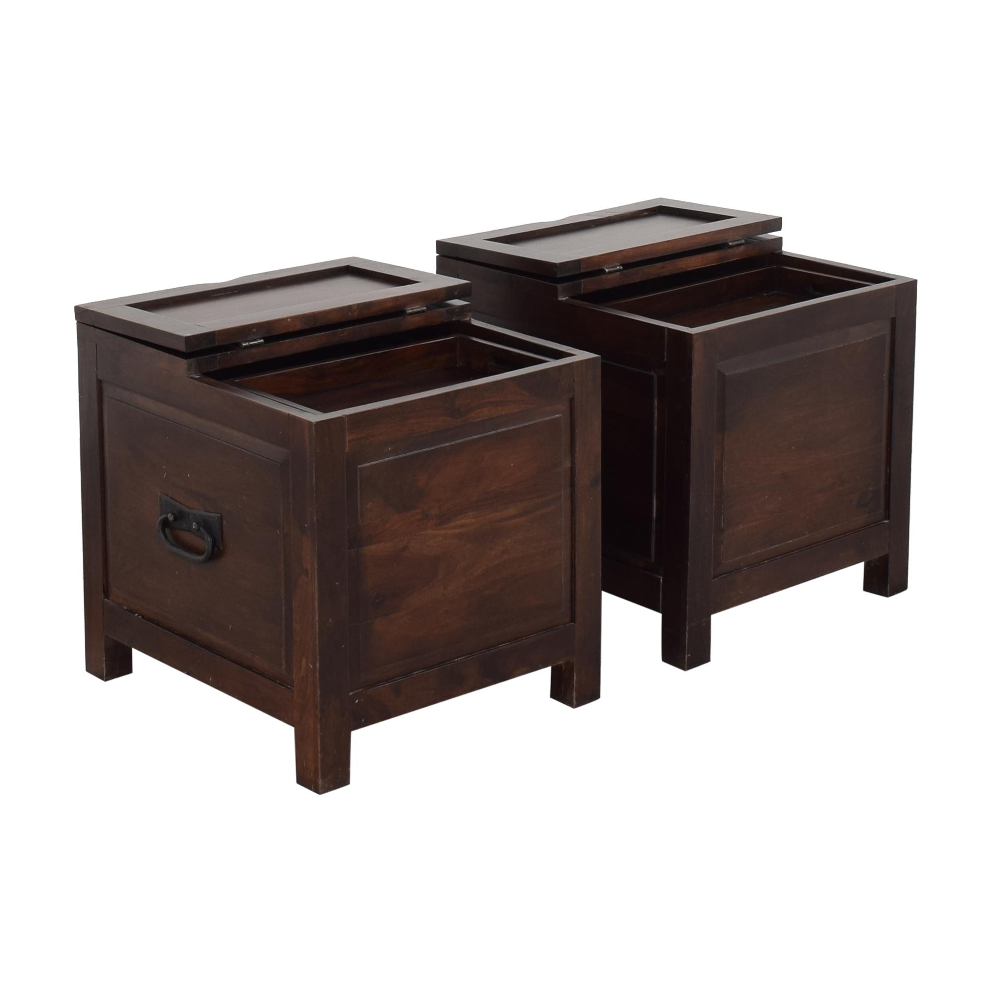 buy Crate & Barrel Hunter Side Trunks Crate & Barrel Trunks