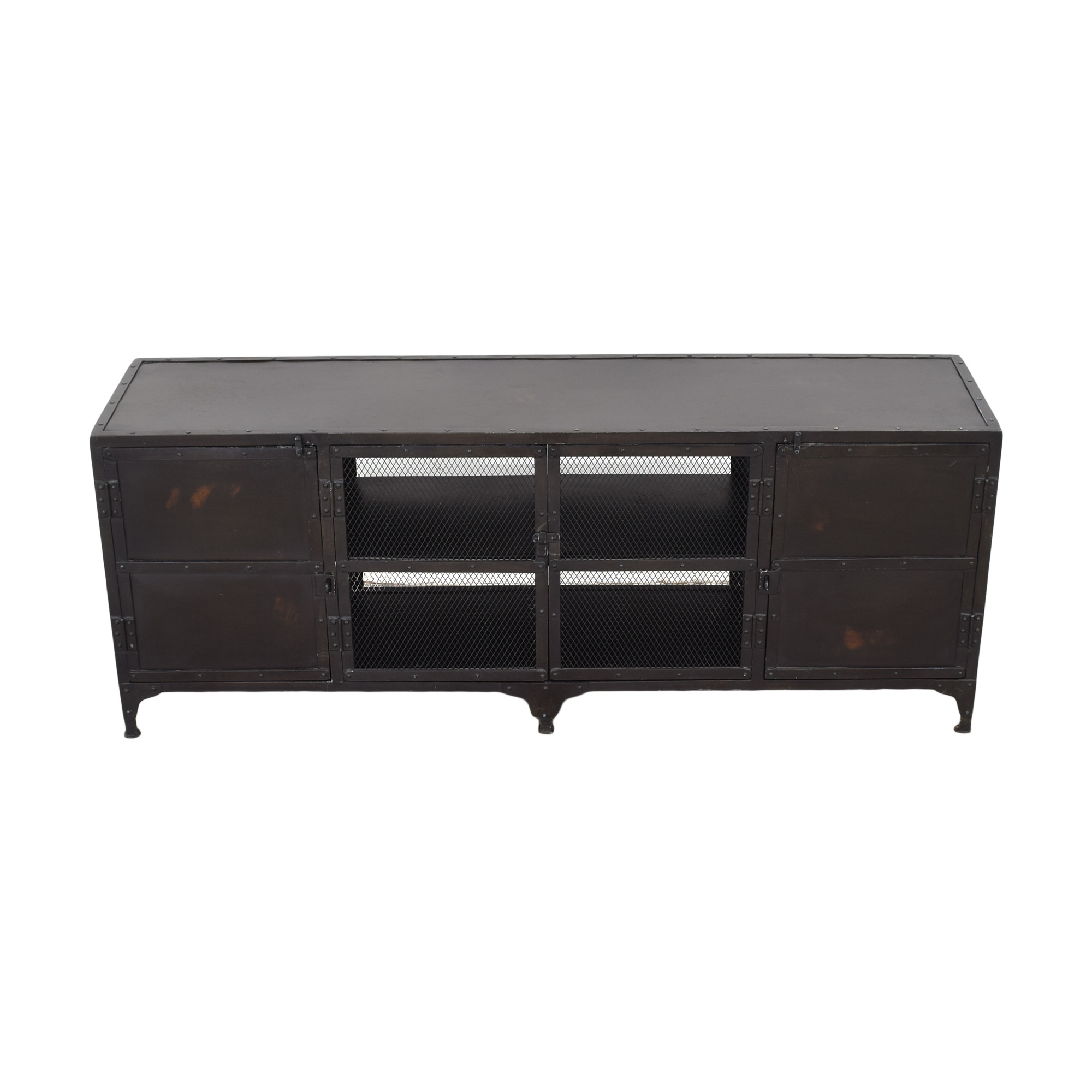 shop Restoration Hardware Restoration Hardware Industrial Tool Chest Media Console online