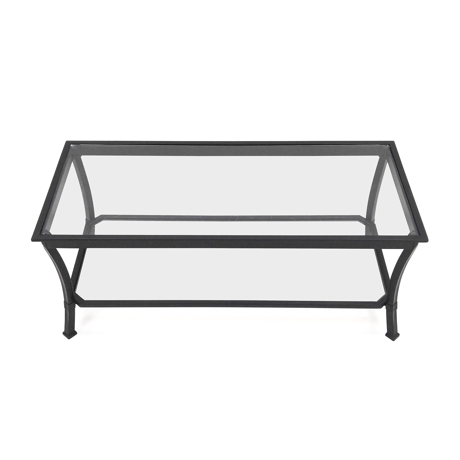 shop Modern Glass Coffee Table Unknown Brand Coffee Tables