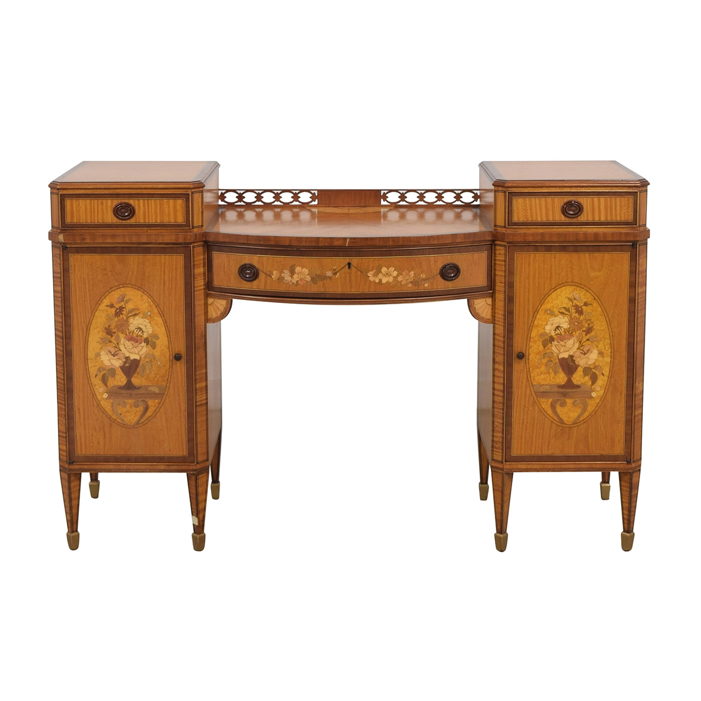 Vintage Drop Center Dressing Table