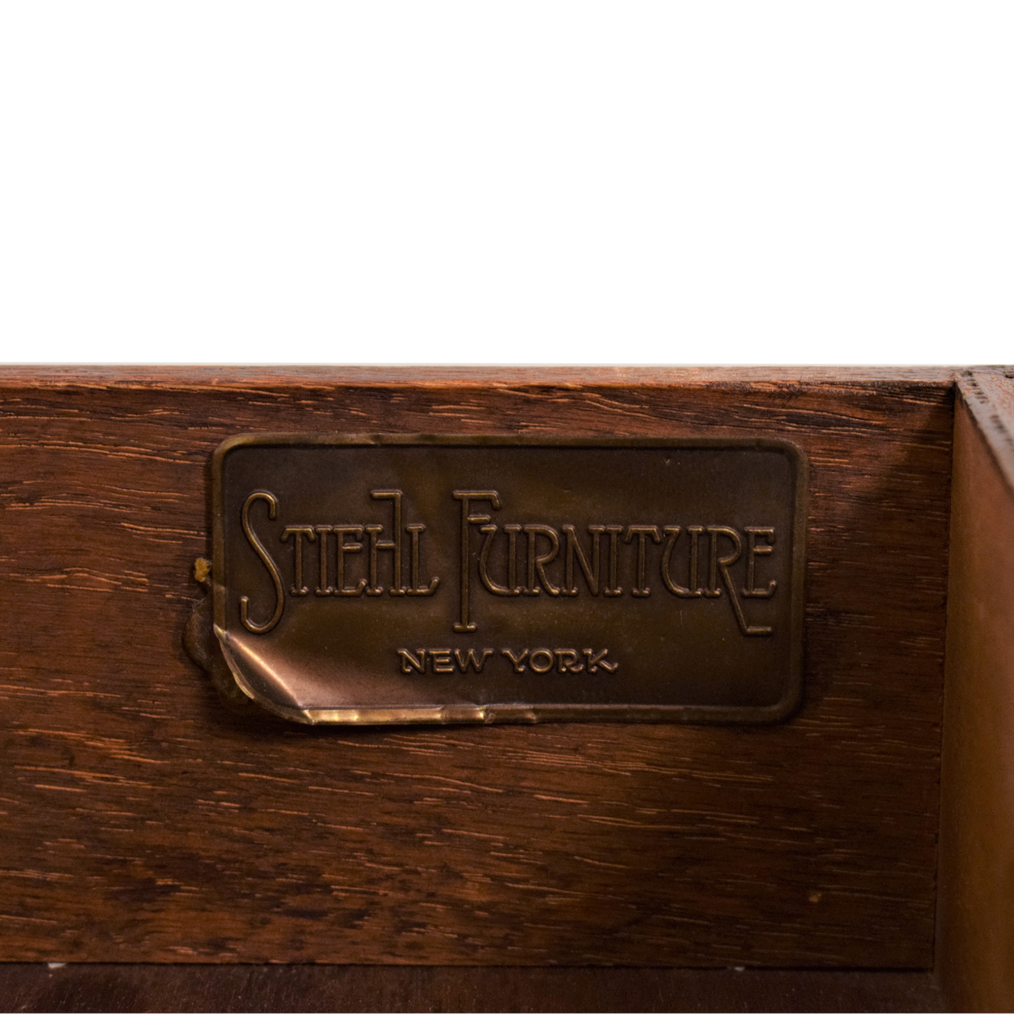 Stiehl Furniture Mahogany Secretary Desk / Home Office Desks