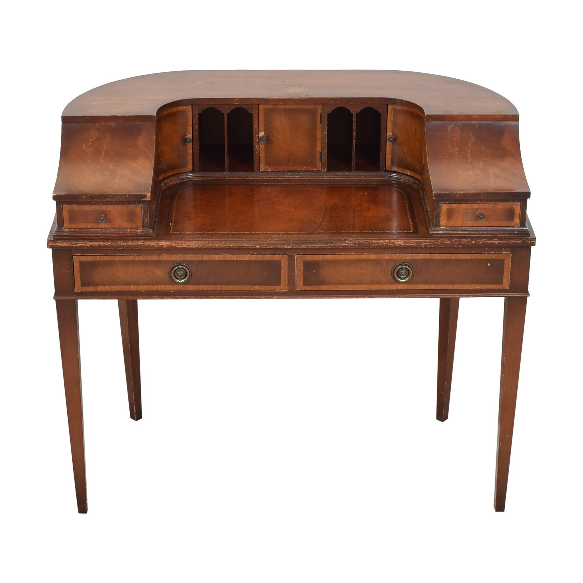 Stiehl Furniture Stiehl Furniture Mahogany Secretary Desk nj