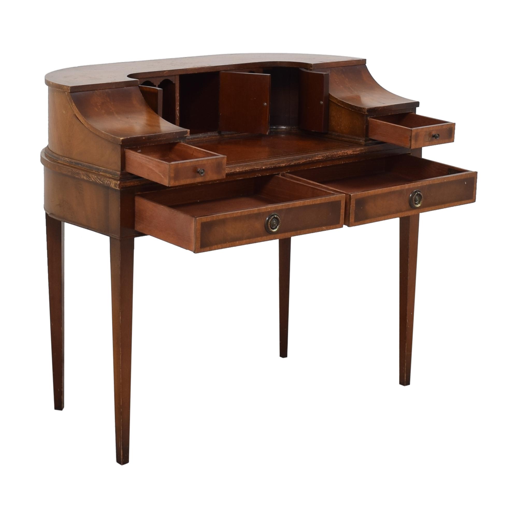 buy Stiehl Furniture Stiehl Furniture Mahogany Secretary Desk online