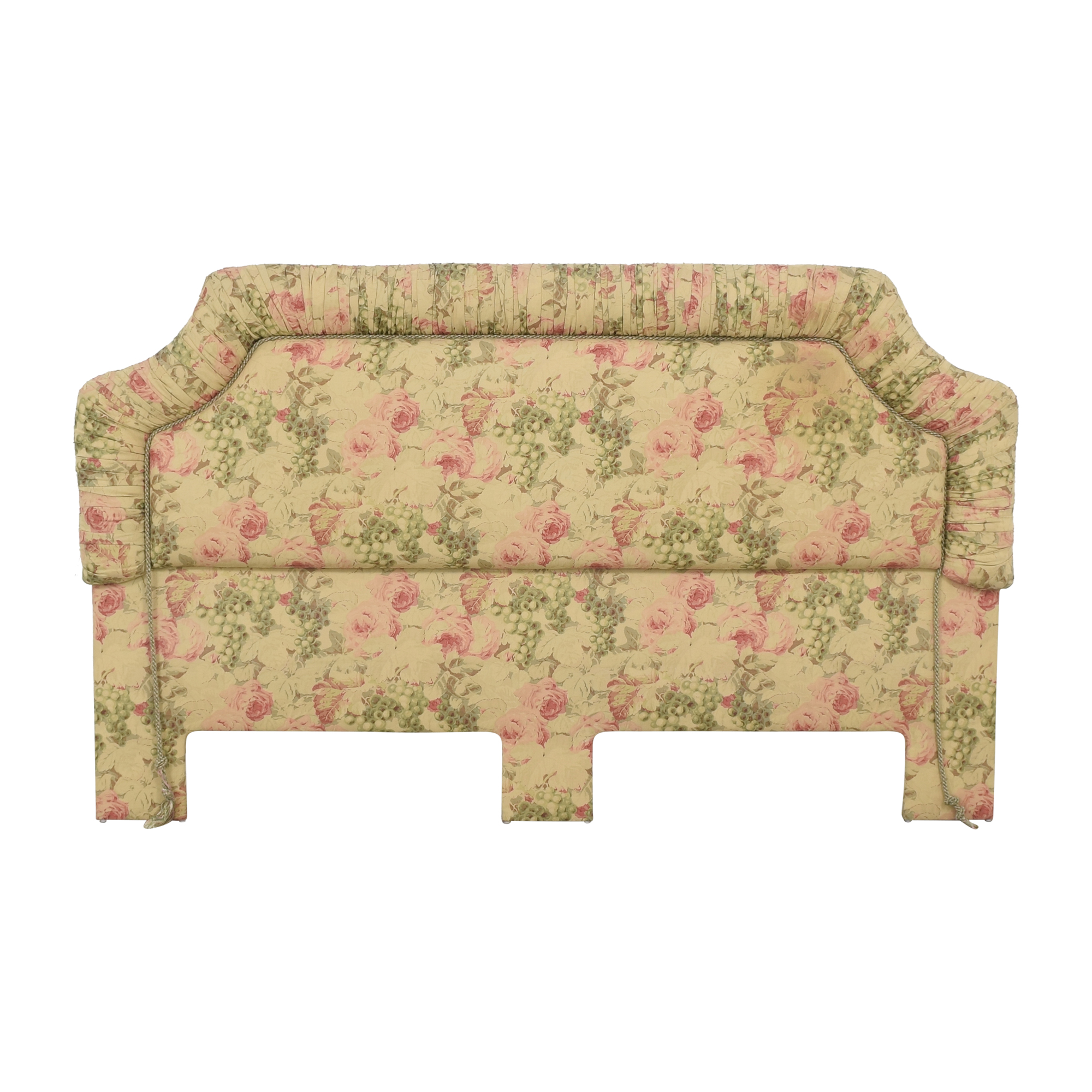 Bennison Fabric Upholstered Headboard multicolored