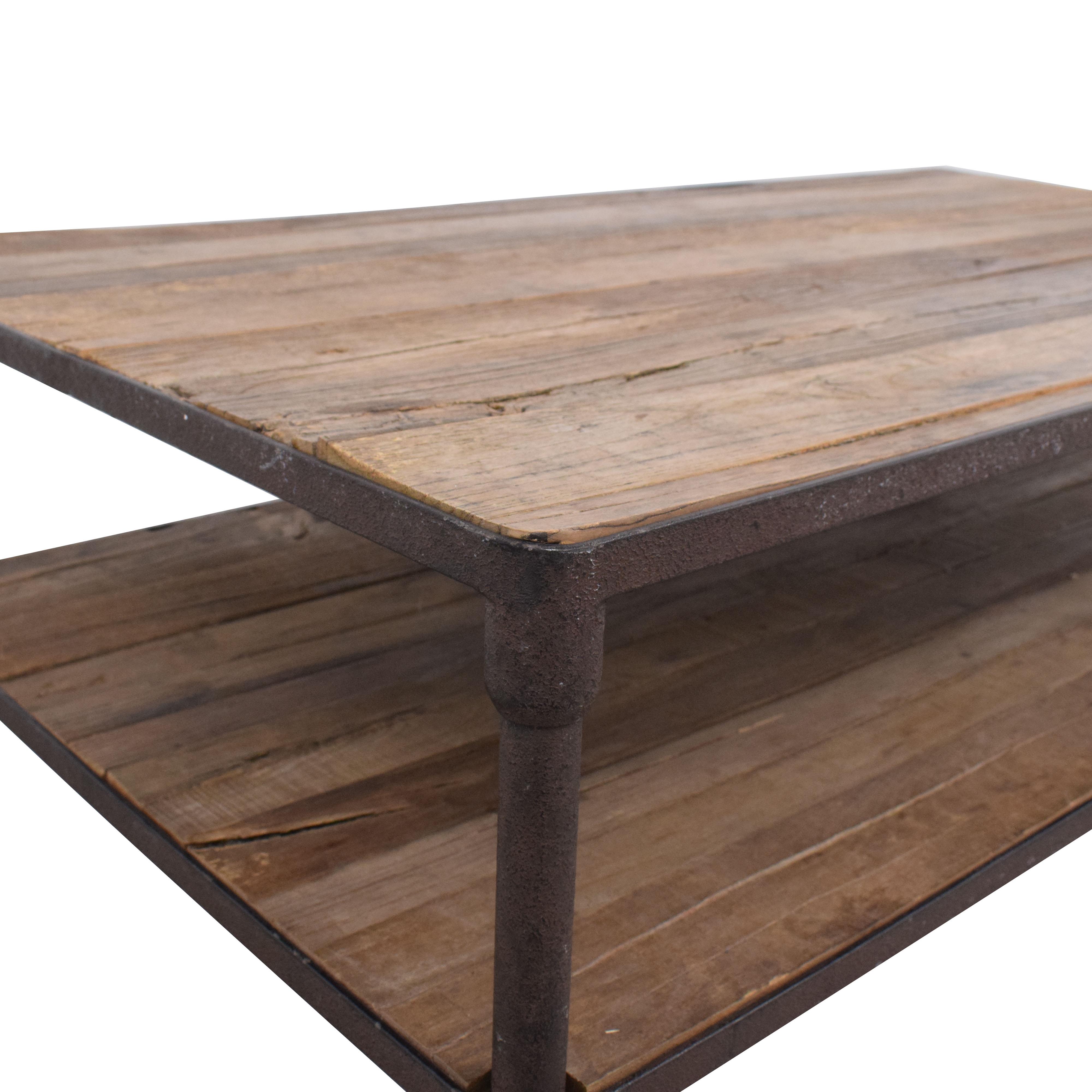 buy Restoration Hardware Restoration Hardware Dutch Industrial Coffee Table online