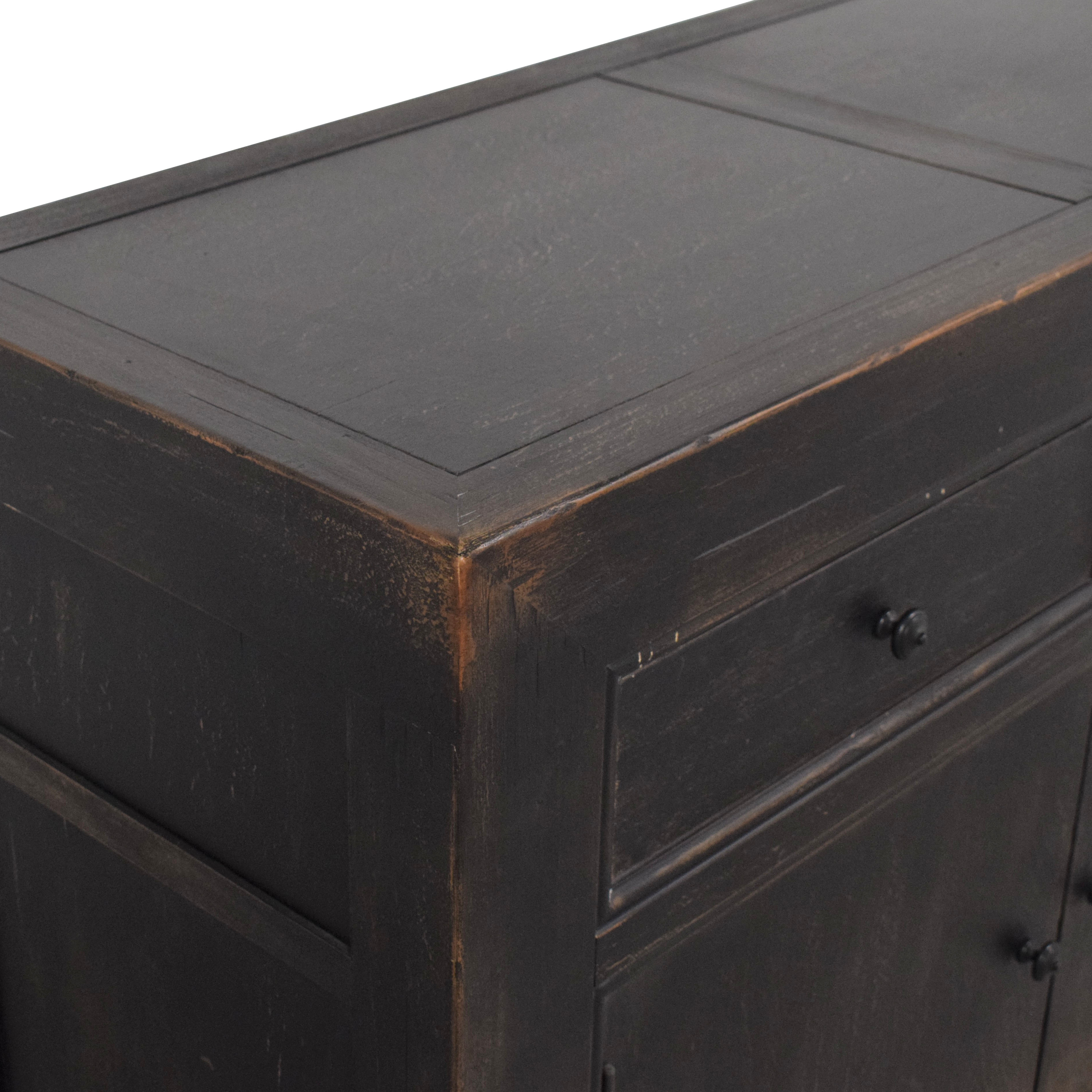 buy Pottery Barn Dawson Media Cabinet Pottery Barn Cabinets & Sideboards