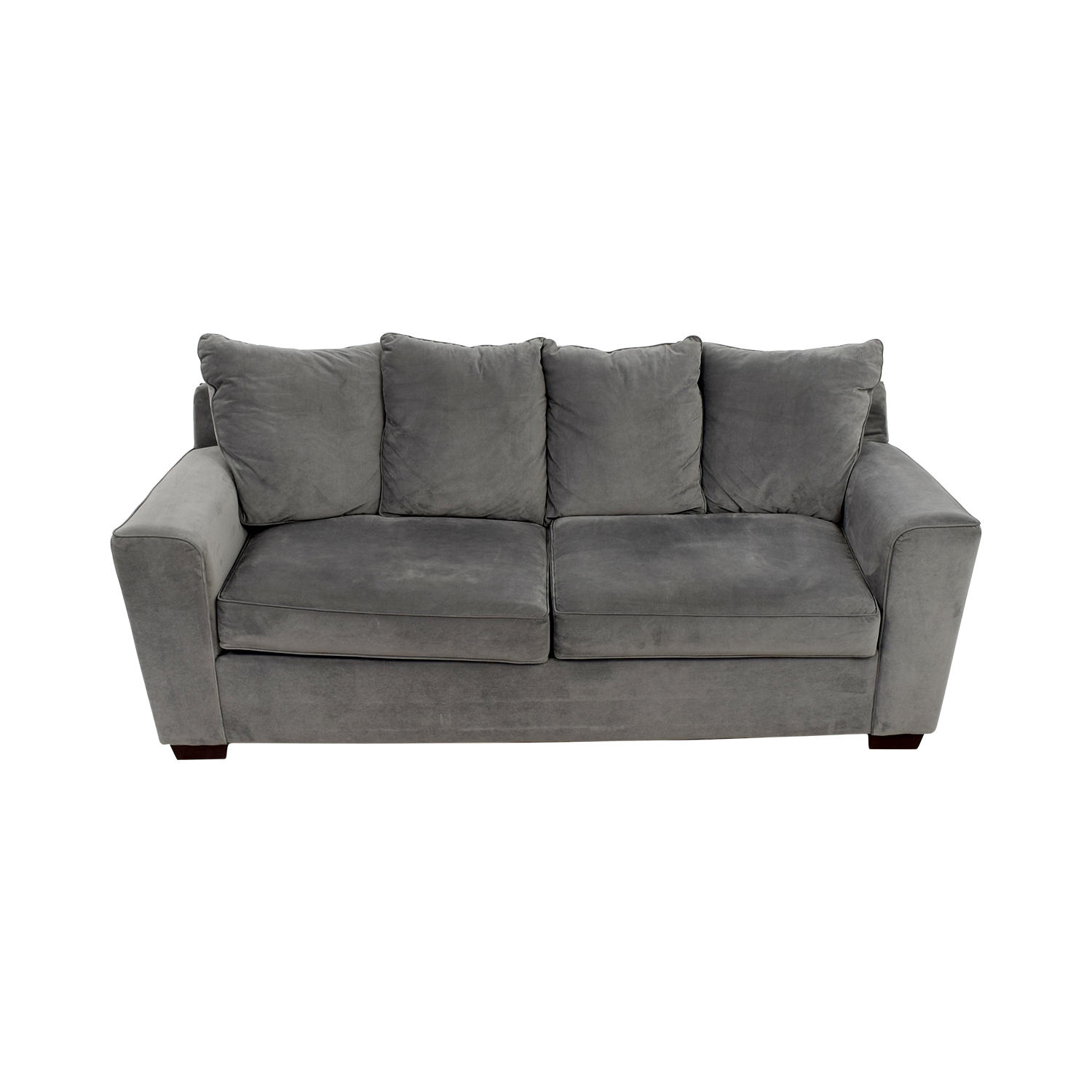 shop Jennifer Convertible Microfiber Sofa Jennifer Convertible Sofas